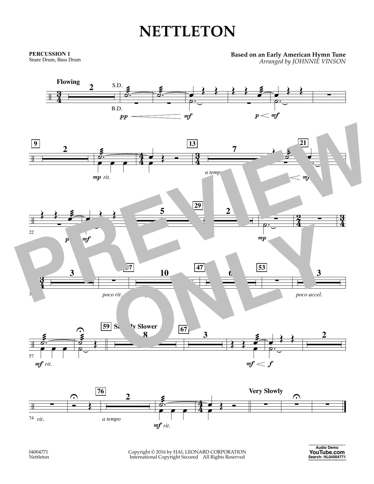 Nettleton - Percussion 1 (Flex-Band)
