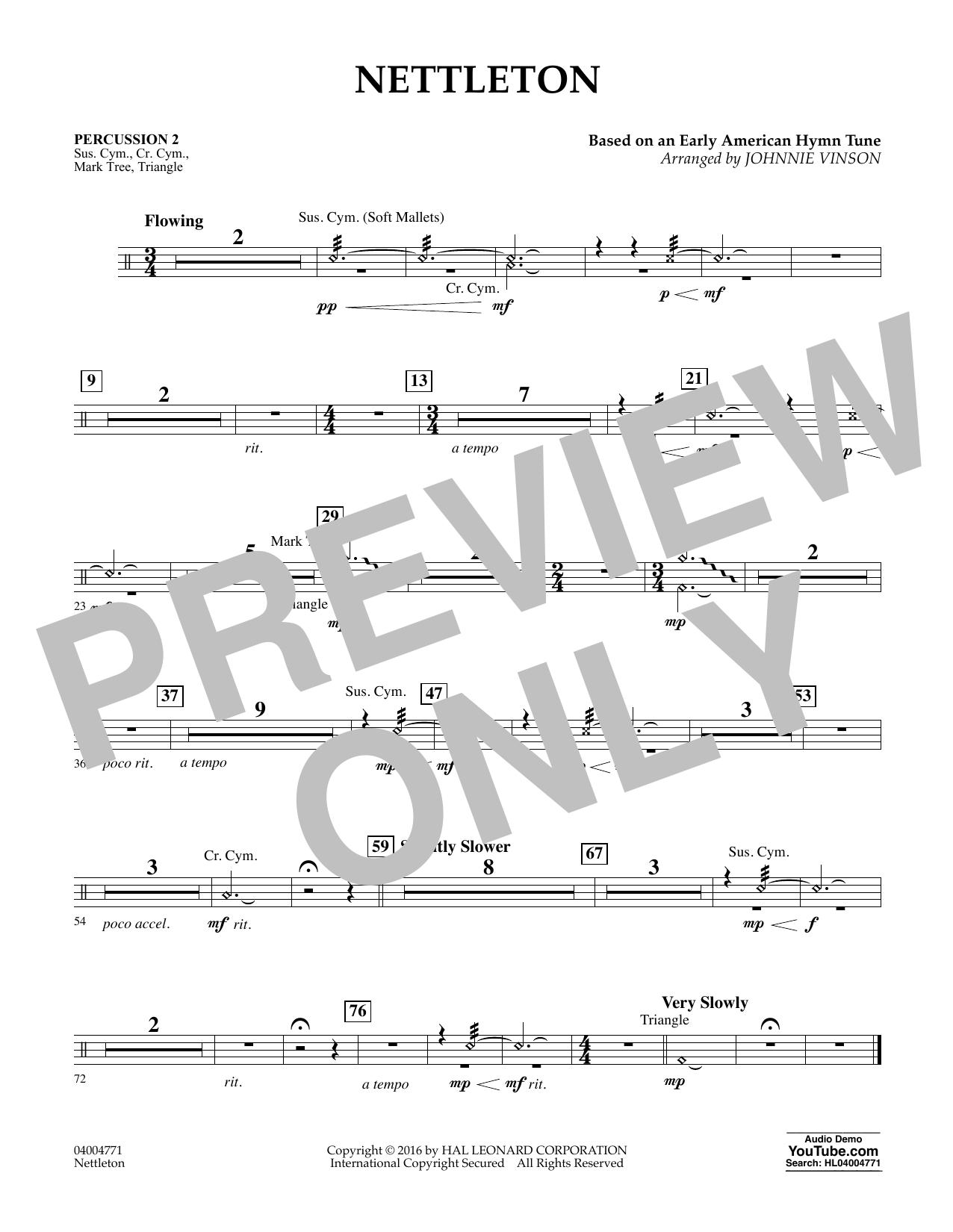 Nettleton - Percussion 2 (Flex-Band)