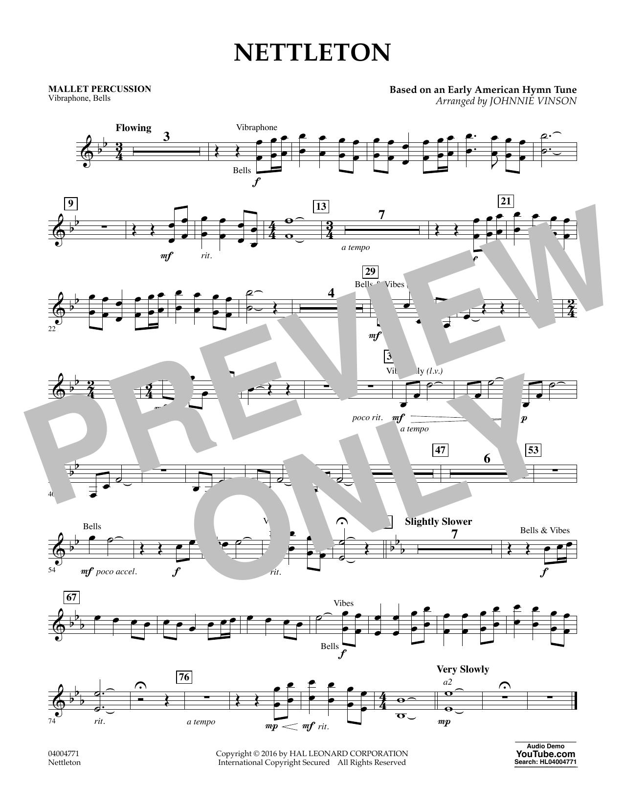 Nettleton - Mallet Percussion (Flex-Band)