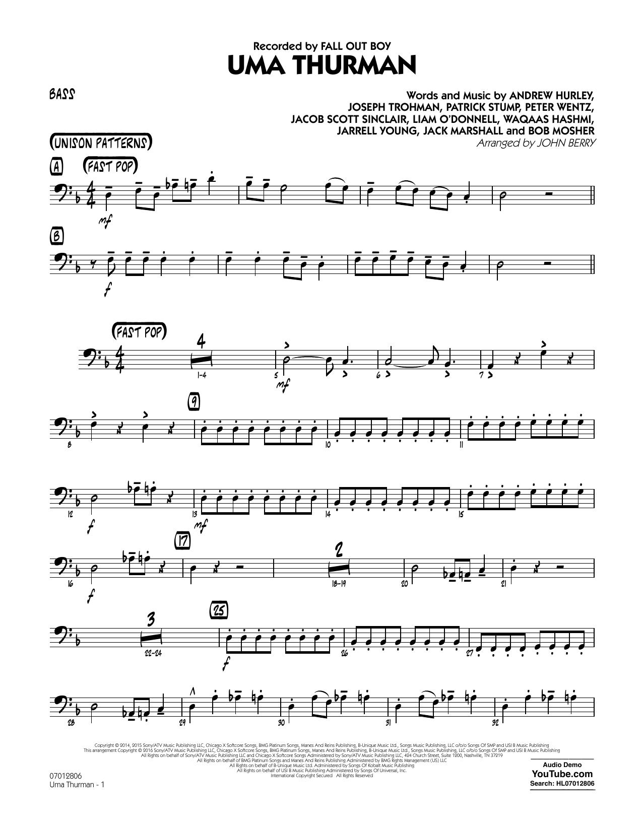 Uma Thurman - Bass (Jazz Ensemble)