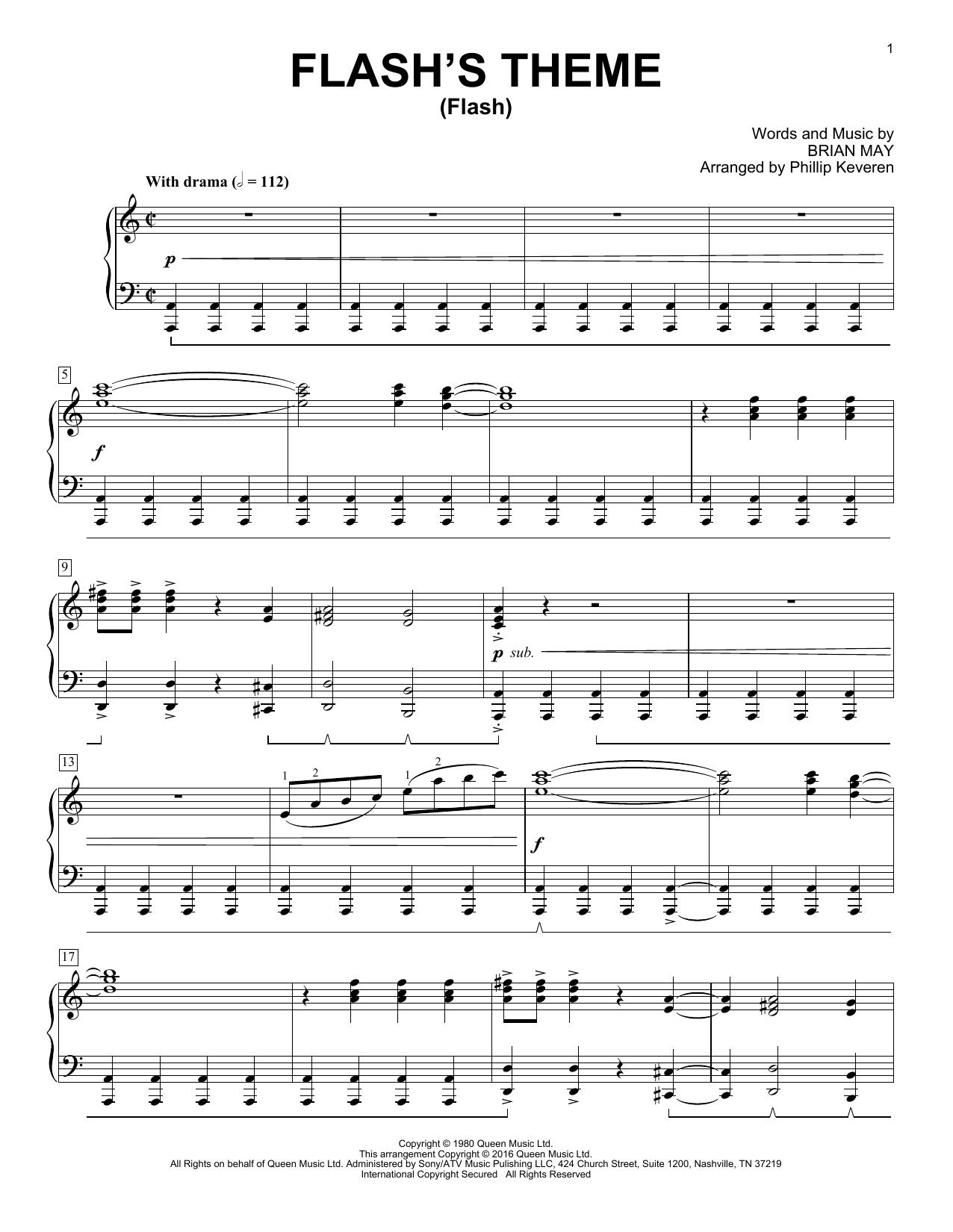 Flash's Theme (Flash) Sheet Music