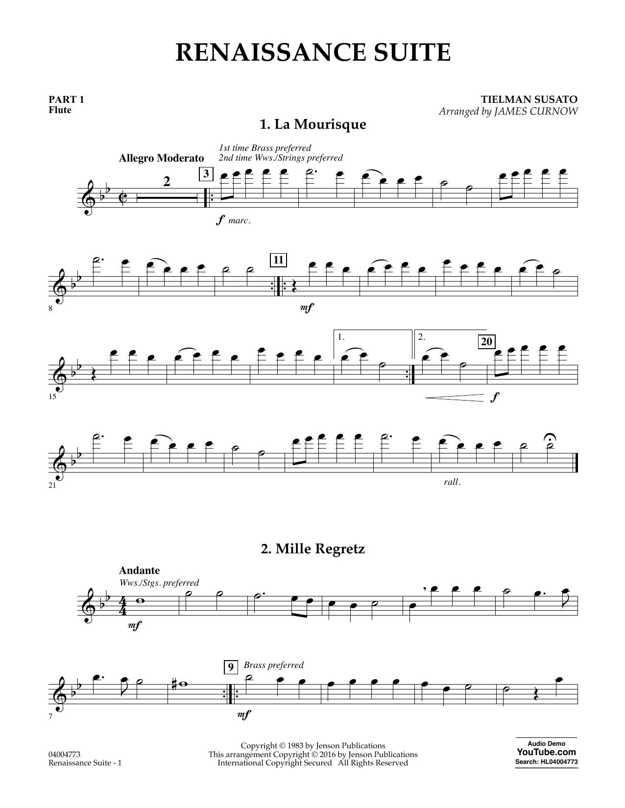 Renaissance Suite - Pt.1 - Flute (Flex-Band)