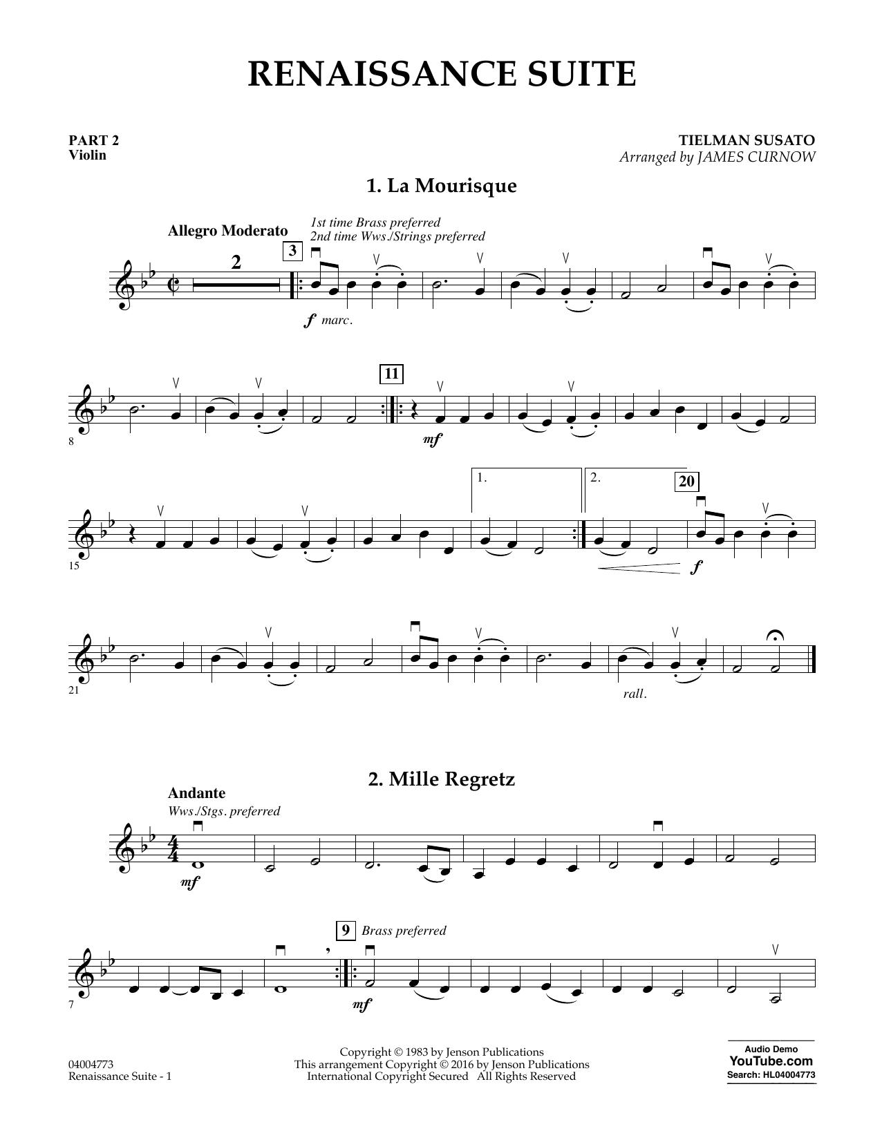 Renaissance Suite - Pt.2 - Violin (Flex-Band)