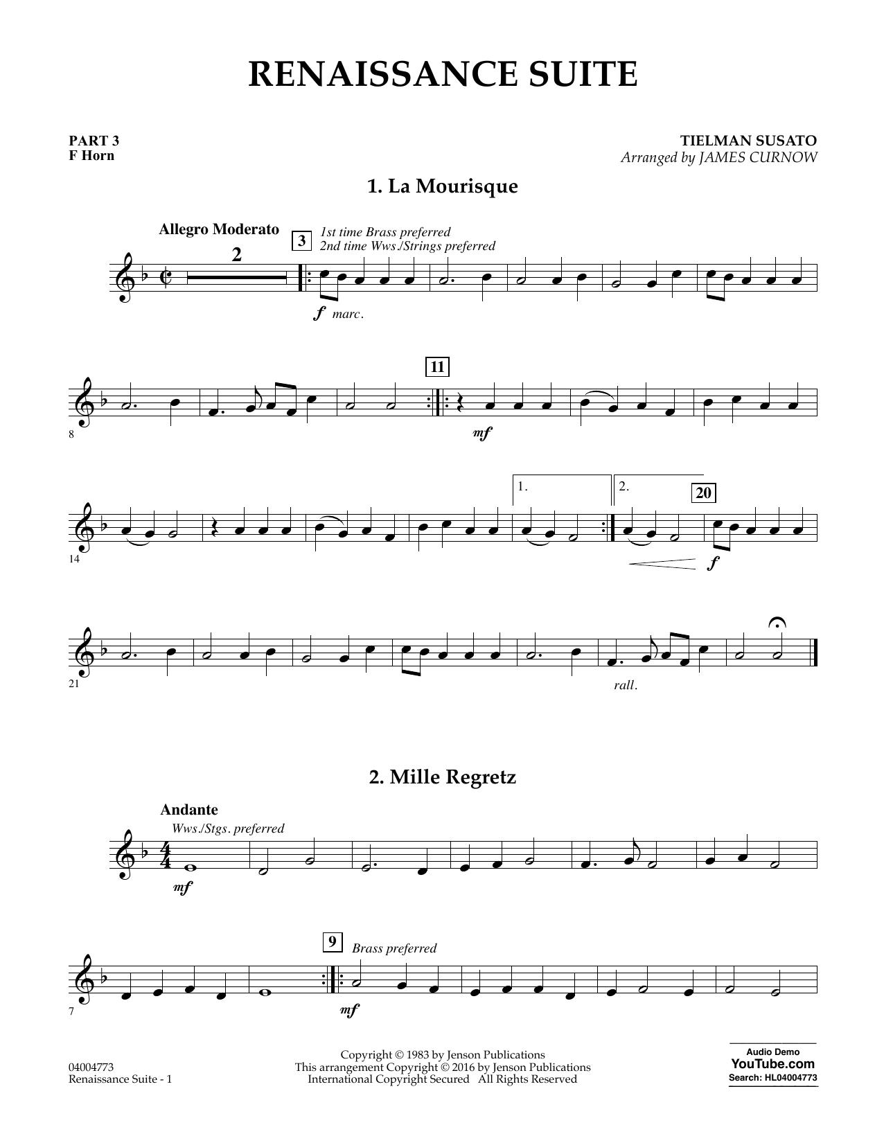 Renaissance Suite - Pt.3 - F Horn (Flex-Band)