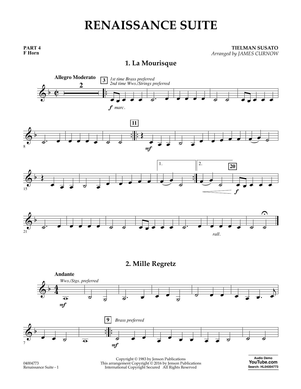 Renaissance Suite - Pt.4 - F Horn (Flex-Band)