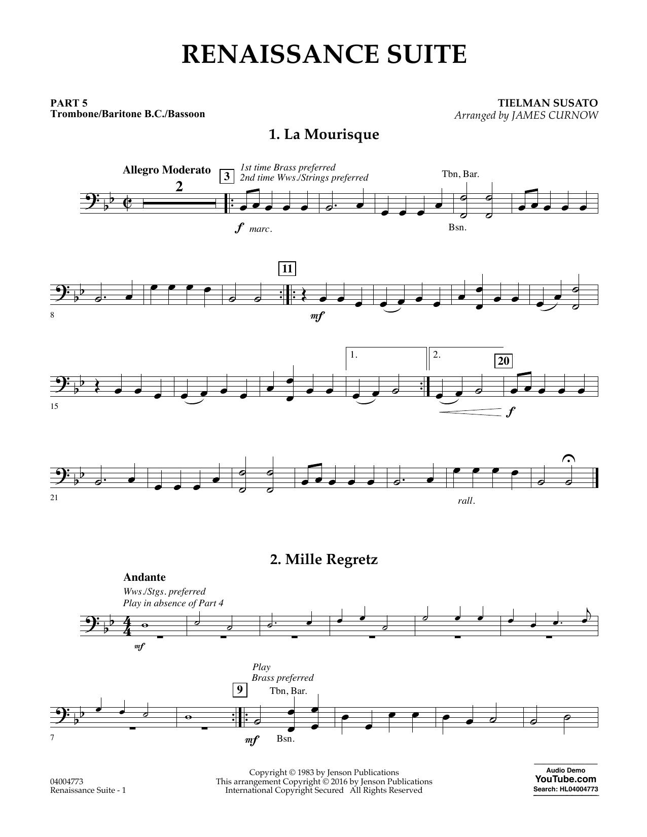 Renaissance Suite - Pt.5 - Trombone/Bar. B.C./Bsn. (Flex-Band)