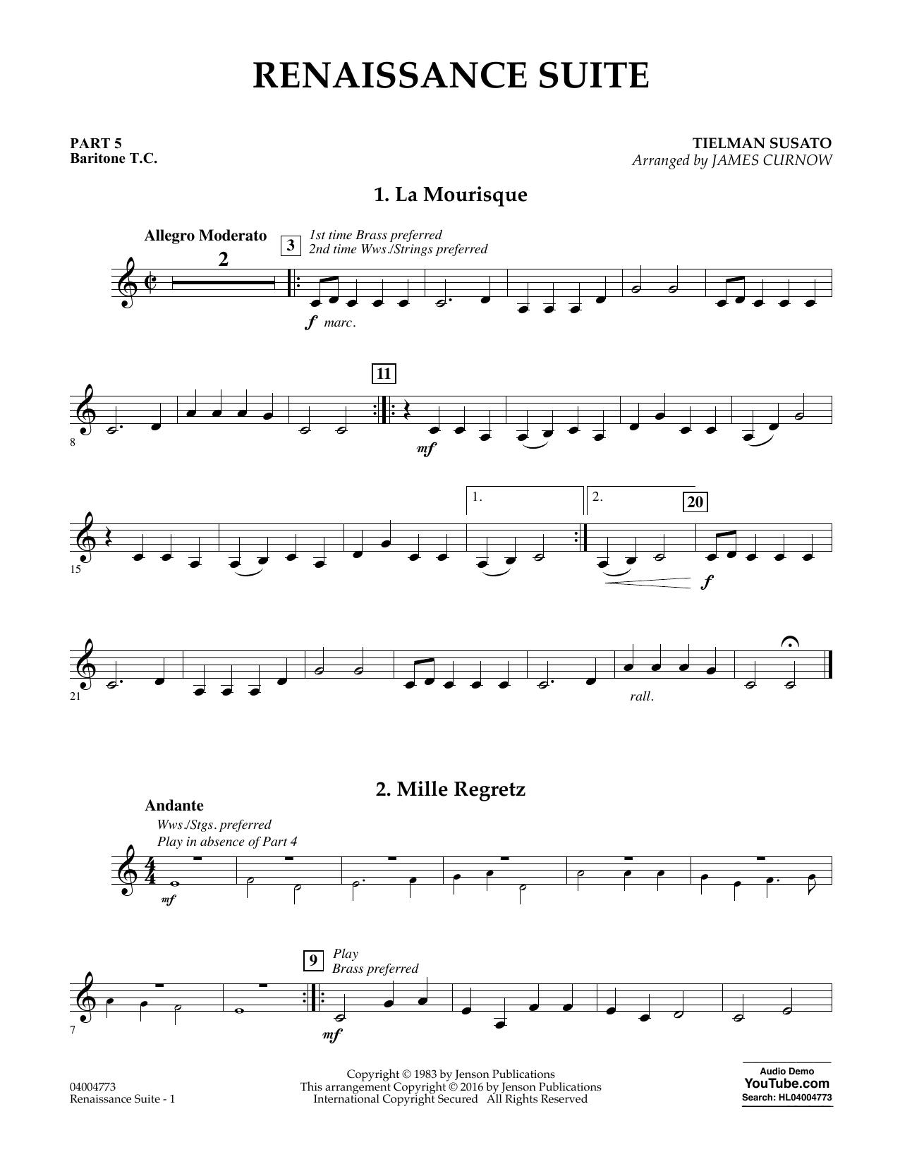 Renaissance Suite - Pt.5 - Baritone T.C. (Flex-Band)