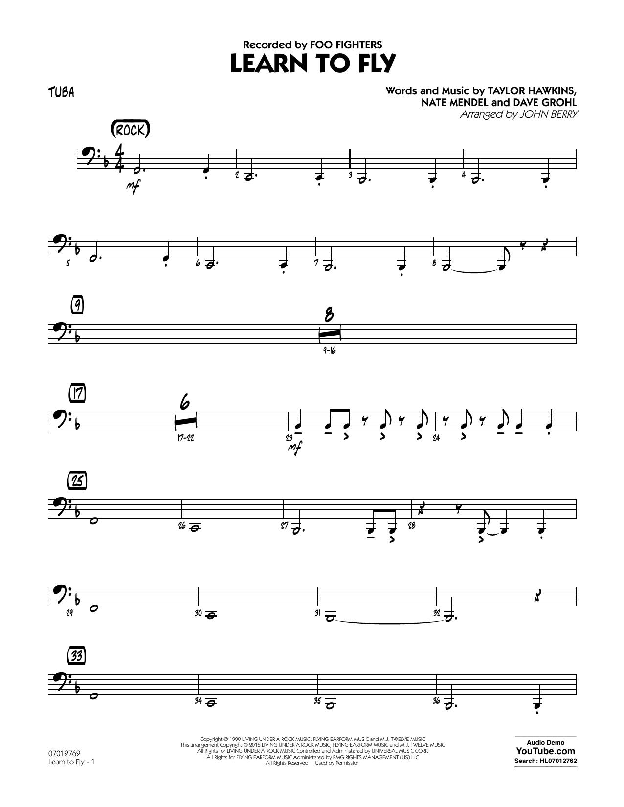 Learn to Fly - Tuba (Jazz Ensemble)
