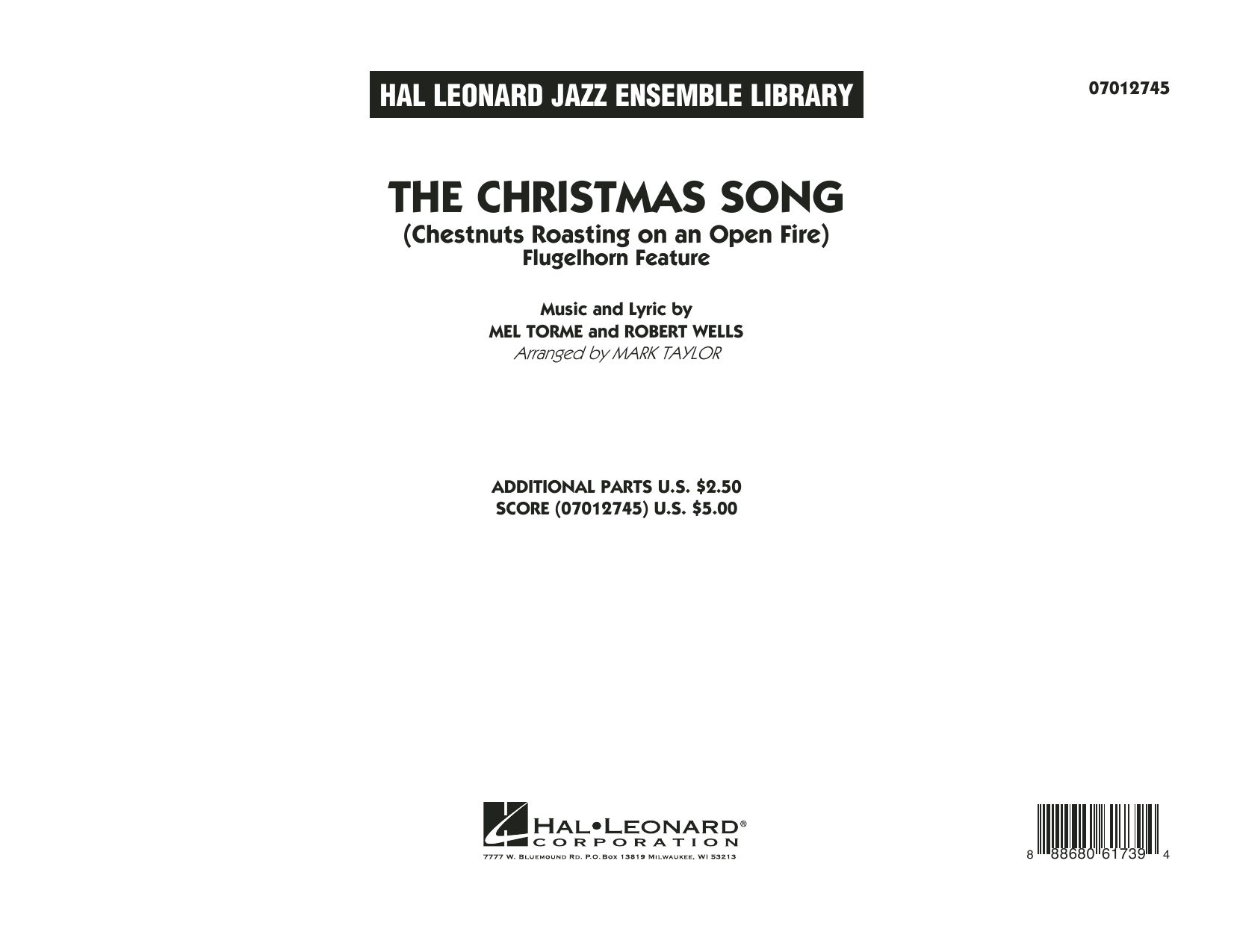 The Christmas Song (Chestnuts Roasting on an Open Fire) - Conductor Score (Full Score) (Jazz Ensemble)