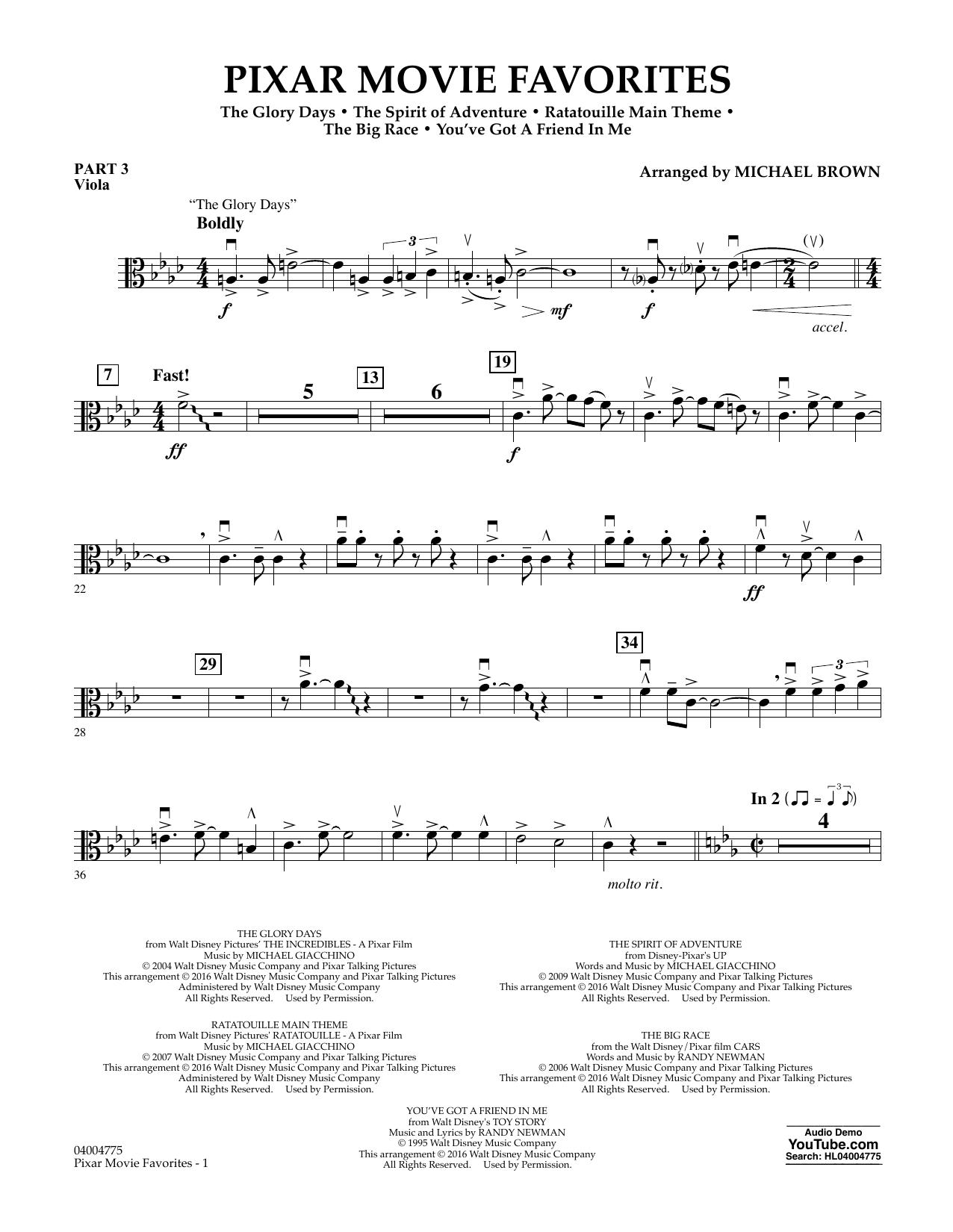 Pixar Movie Favorites - Pt.3 - Viola (Flex-Band)