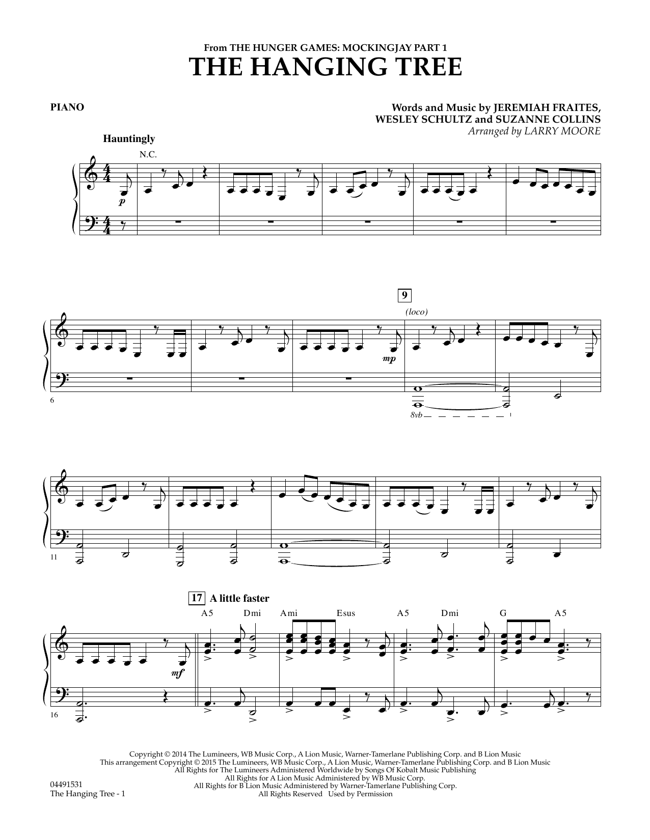 The Hanging Tree - Piano (Orchestra)
