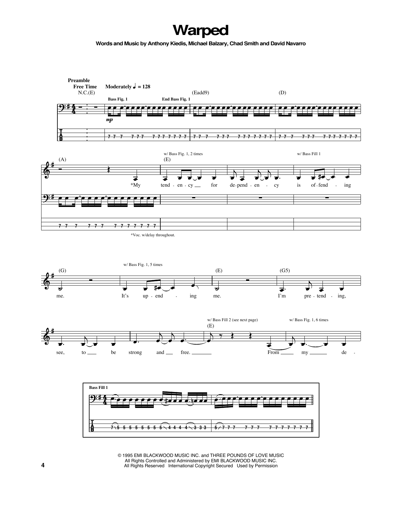 Warped Sheet Music