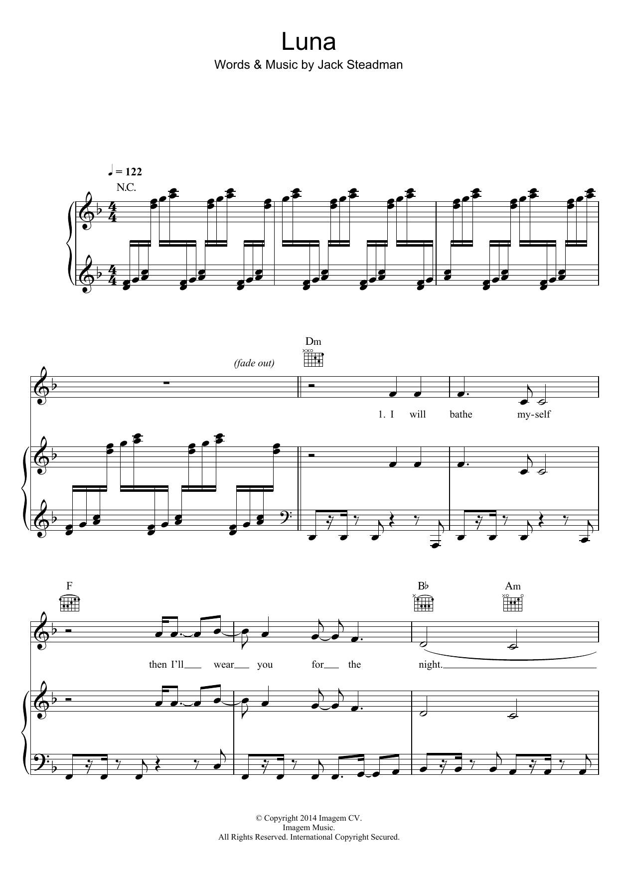 Luna Sheet Music