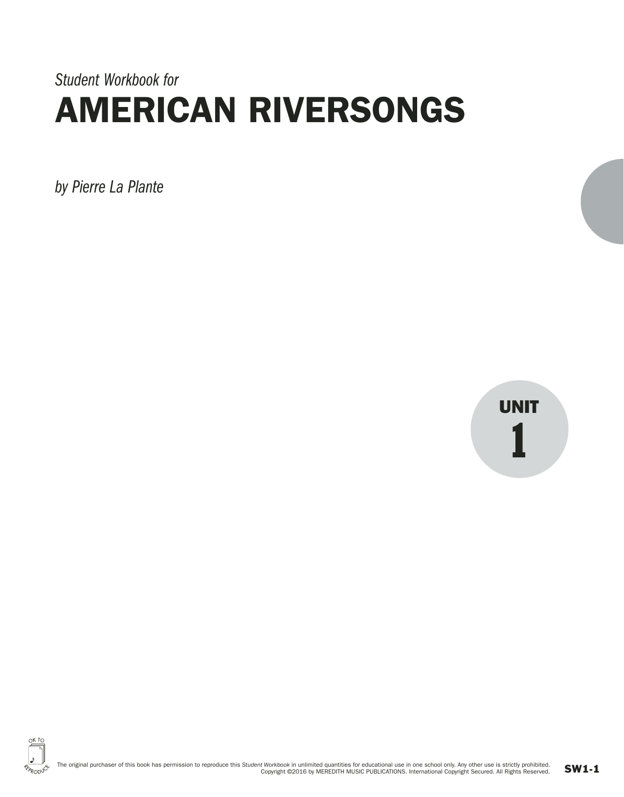 Guides to Band Masterworks, Vol. 6 - Student Workbook - American Riversongs Sheet Music