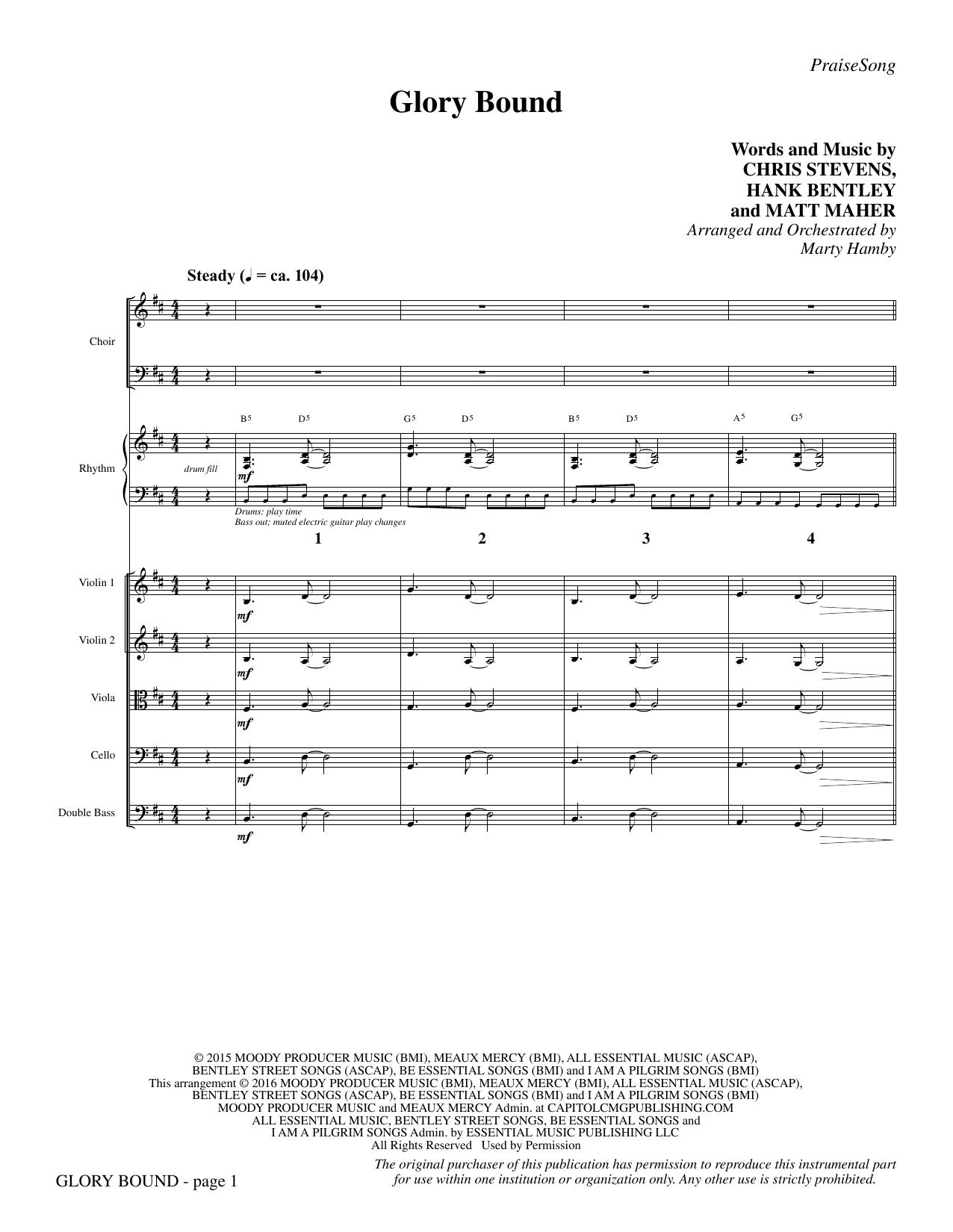 Glory Bound - Full Score Sheet Music