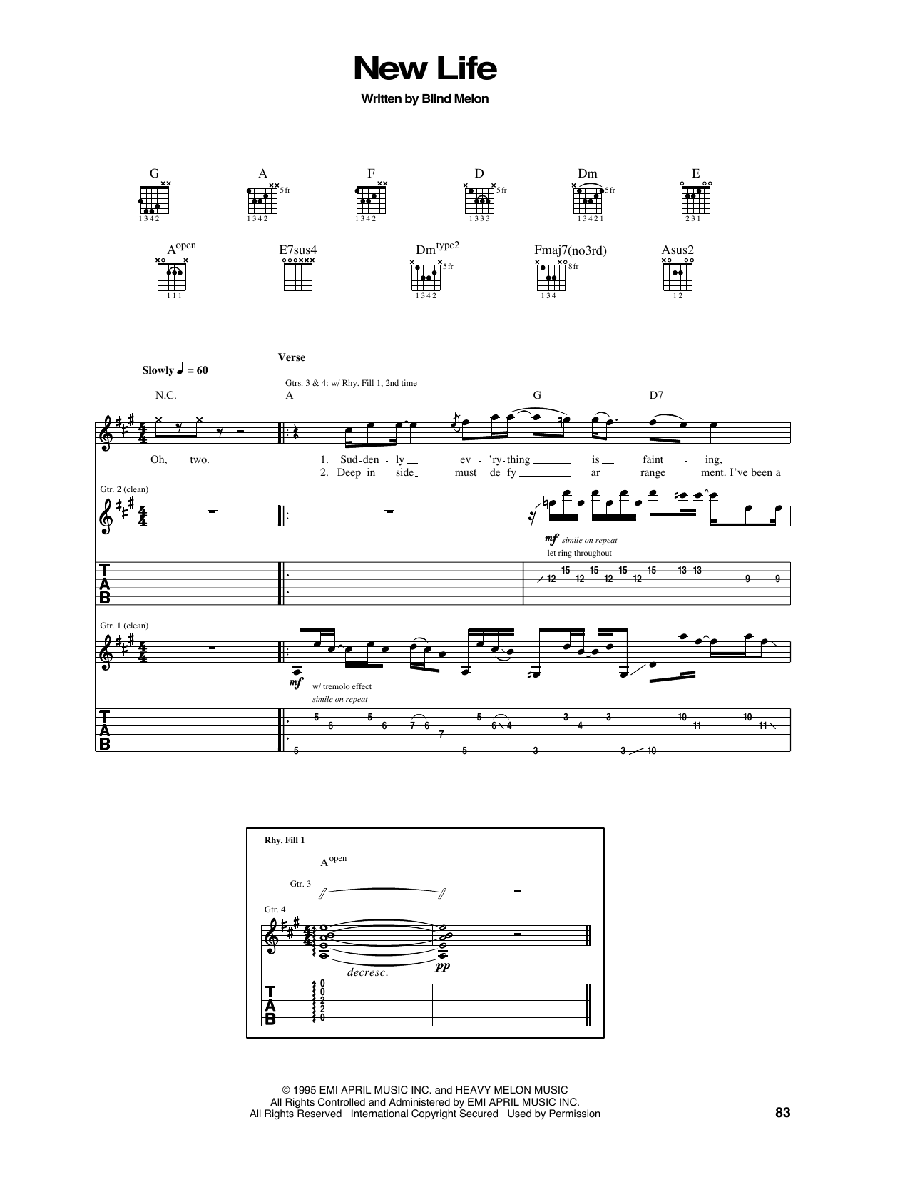 New Life Sheet Music