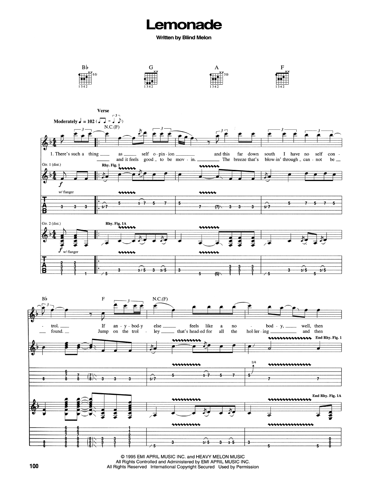 Lemonade Sheet Music