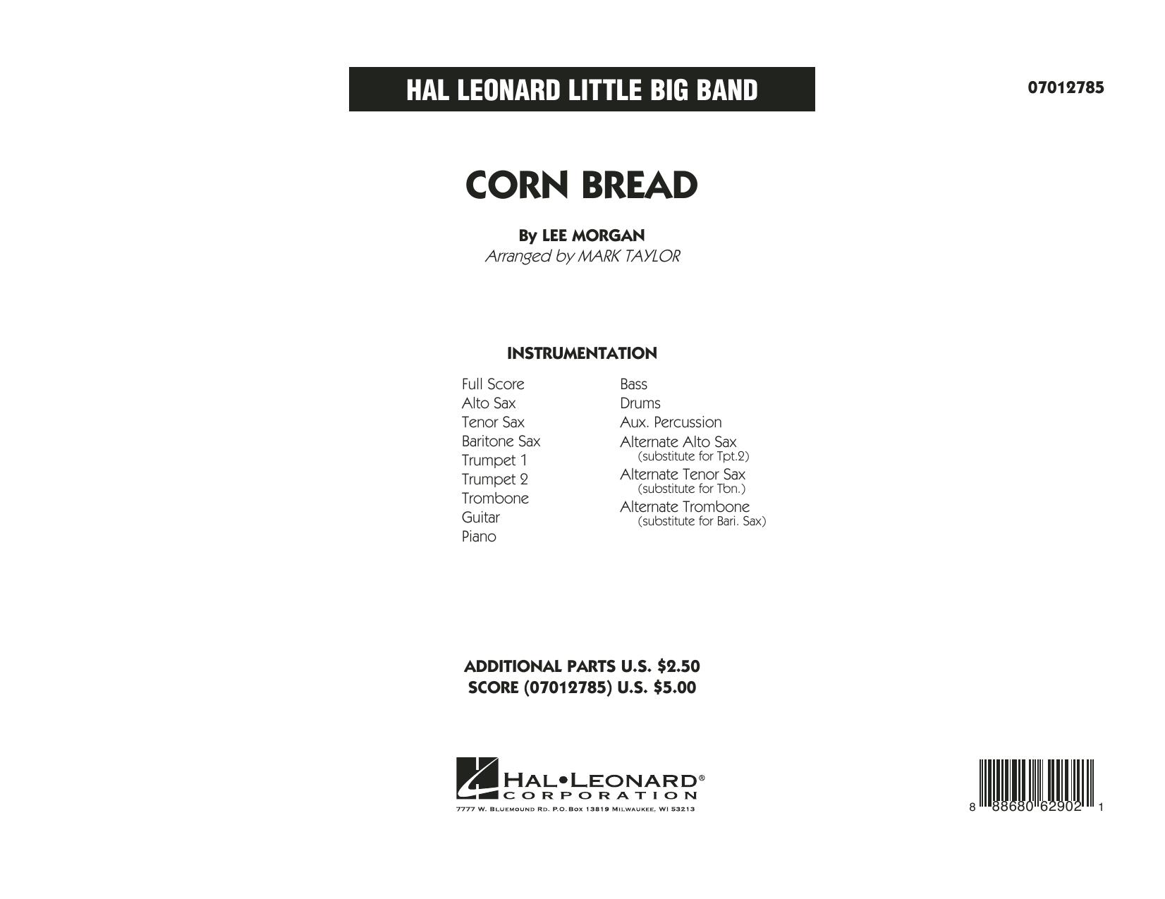 Corn Bread - Full Score (Jazz Ensemble)
