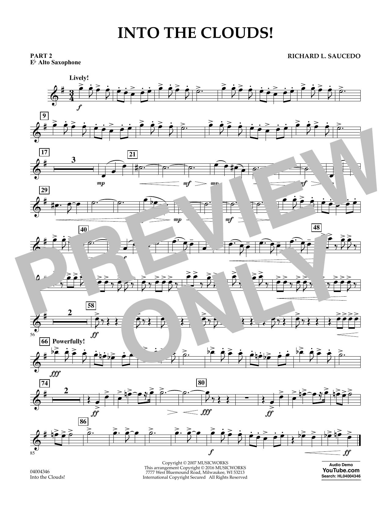 Into the Clouds! - Pt.2 - Eb Alto Saxophone (Flex-Band)