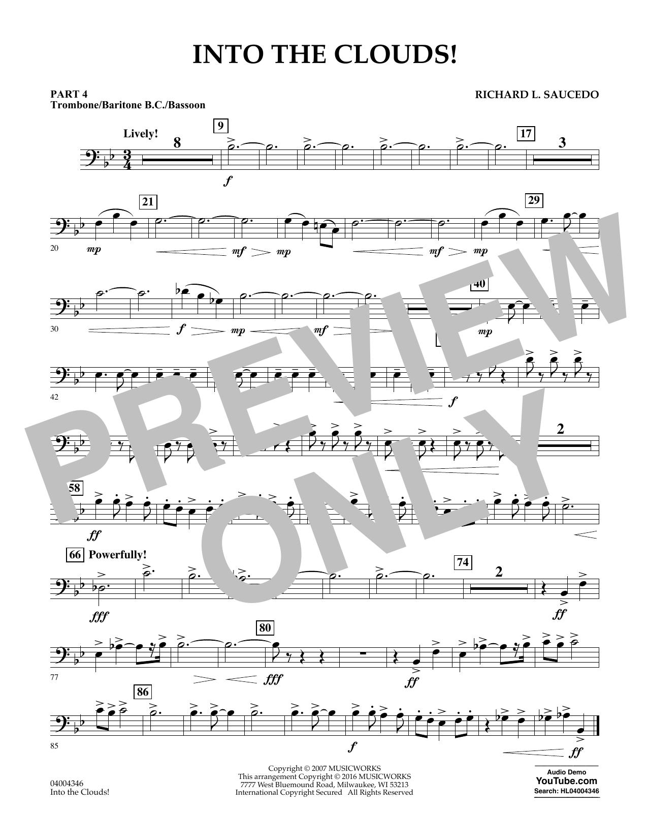 Into the Clouds! - Pt.4 - Trombone/Bar. B.C./Bsn. (Flex-Band)