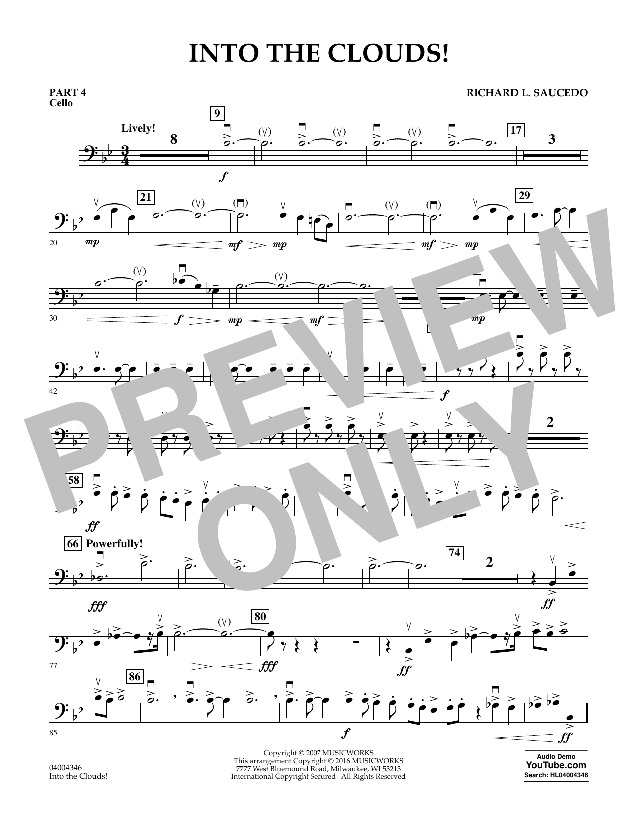 Into the Clouds! - Pt.4 - Cello (Flex-Band)