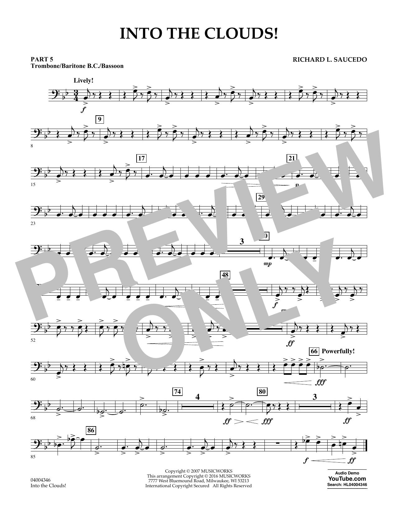 Into the Clouds! - Pt.5 - Trombone/Bar. B.C./Bsn. (Flex-Band)