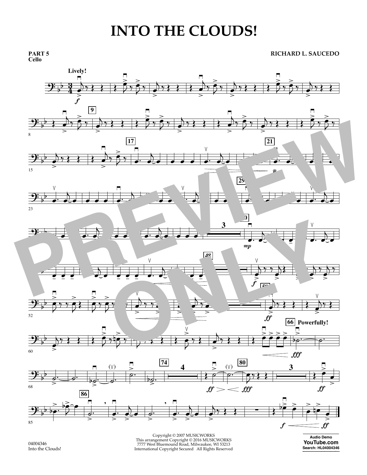 Into the Clouds! - Pt.5 - Cello (Flex-Band)