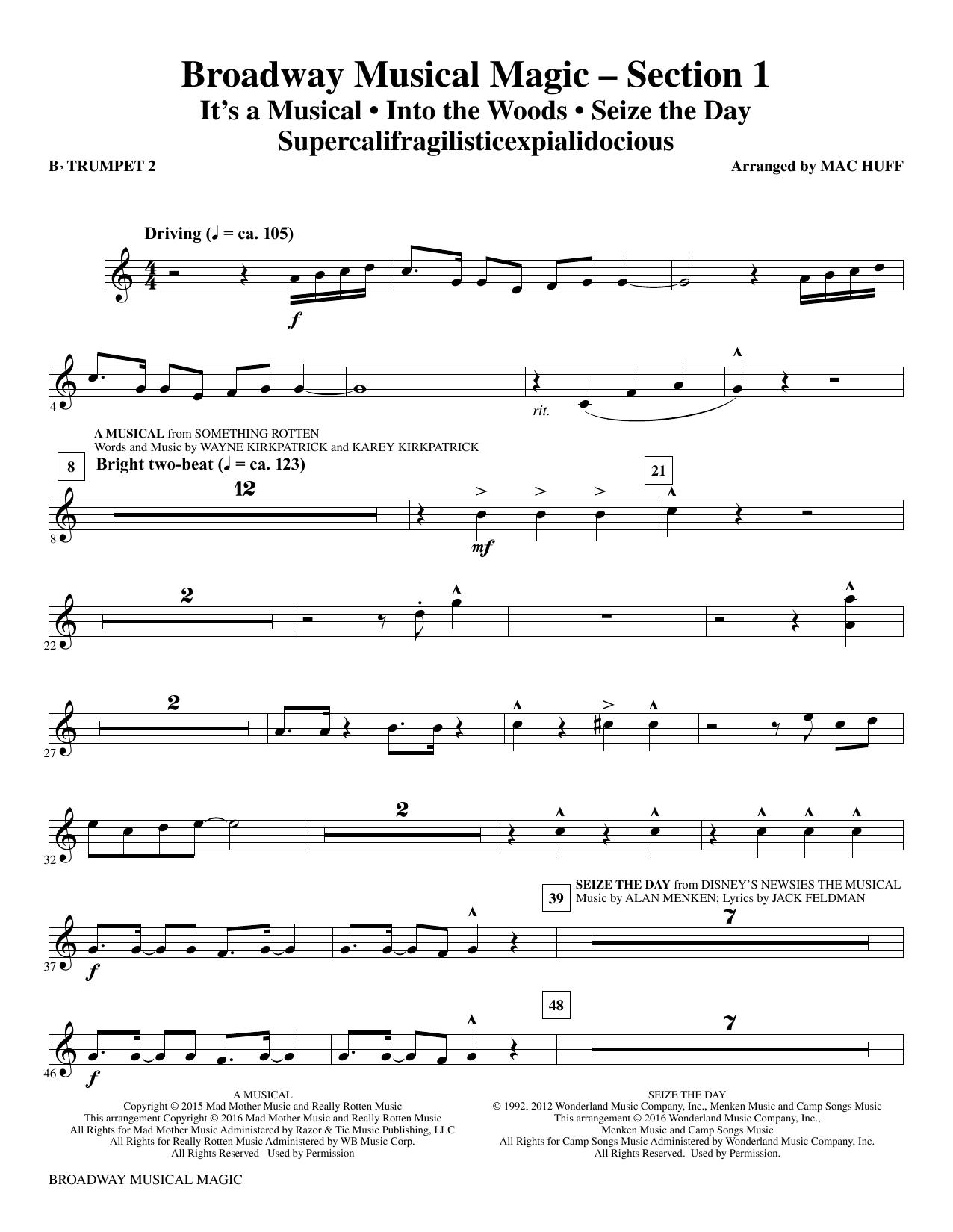 Broadway Musical Magic - Bb Trumpet 2 (Choir Instrumental Pak)