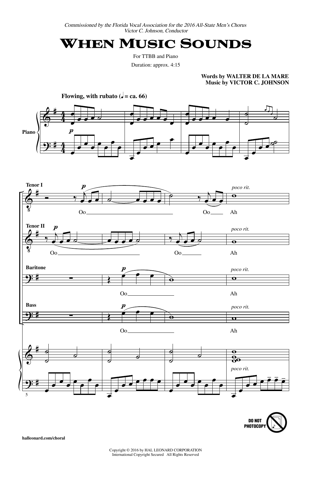 When Music Sounds Sheet Music