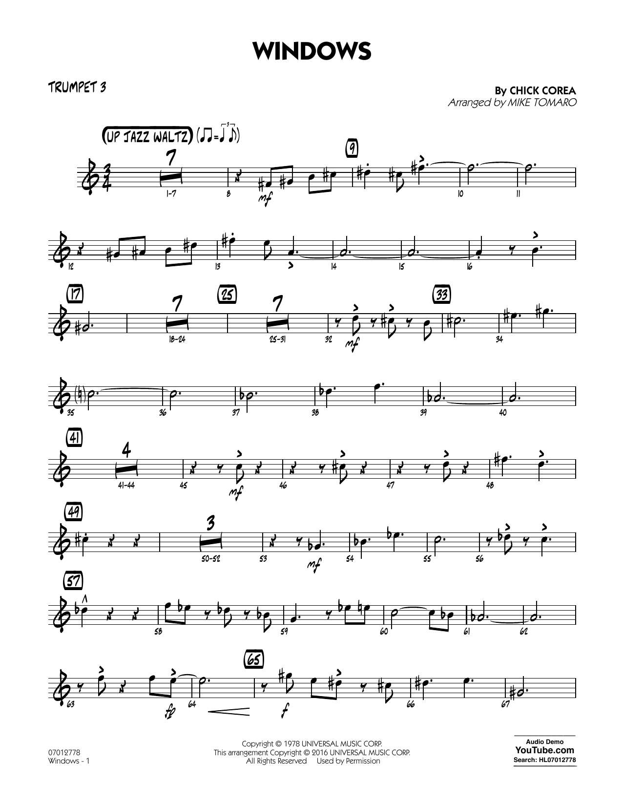 Windows - Trumpet 3 (Jazz Ensemble)