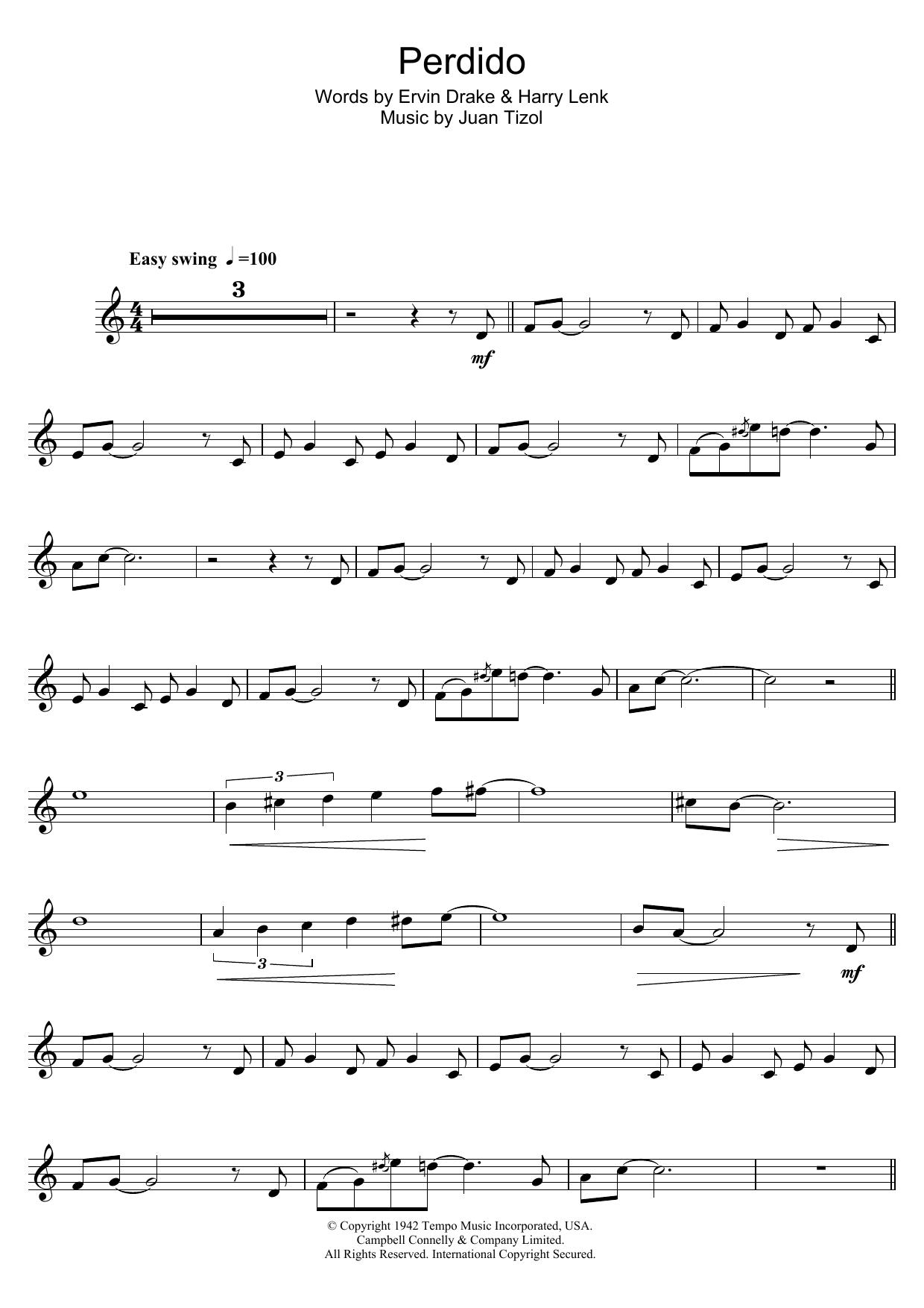 Perdido (Trumpet Solo)