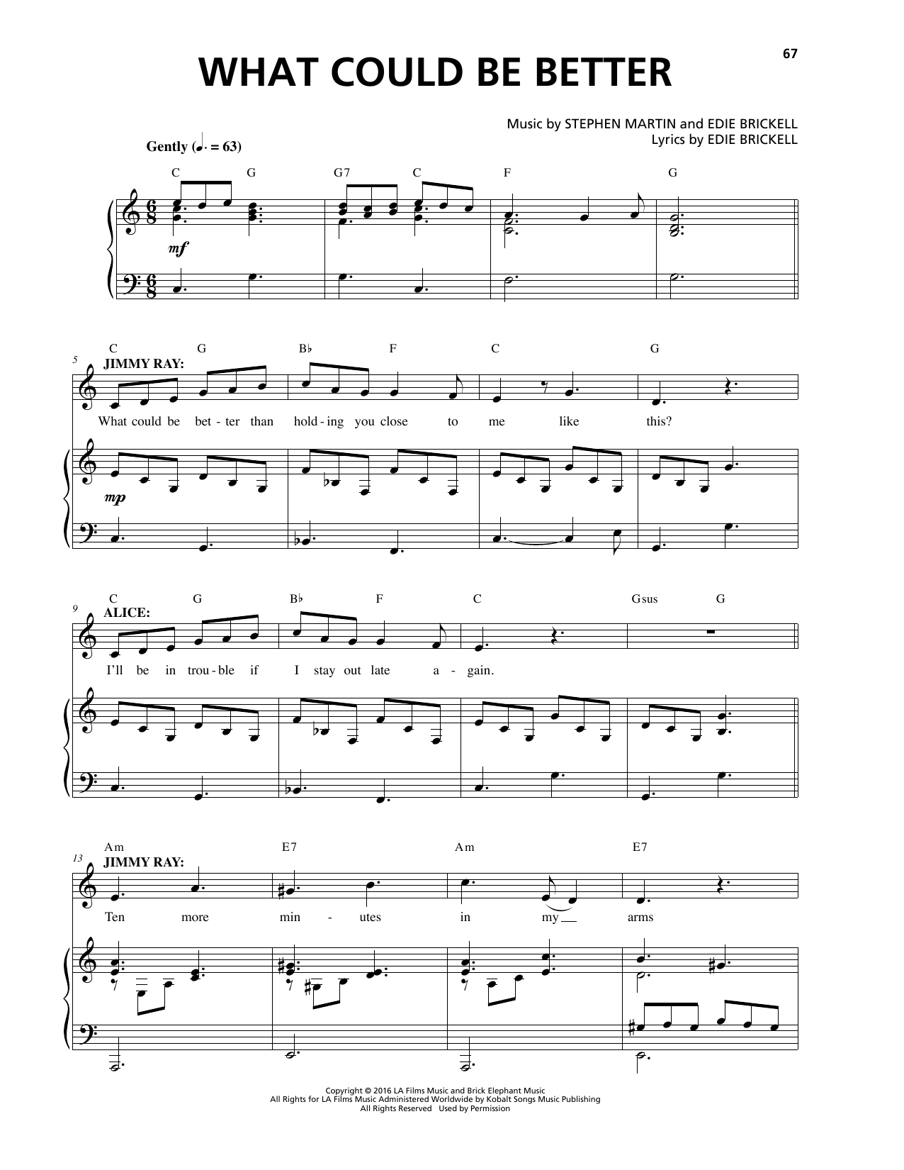 What Could Be Better Sheet Music