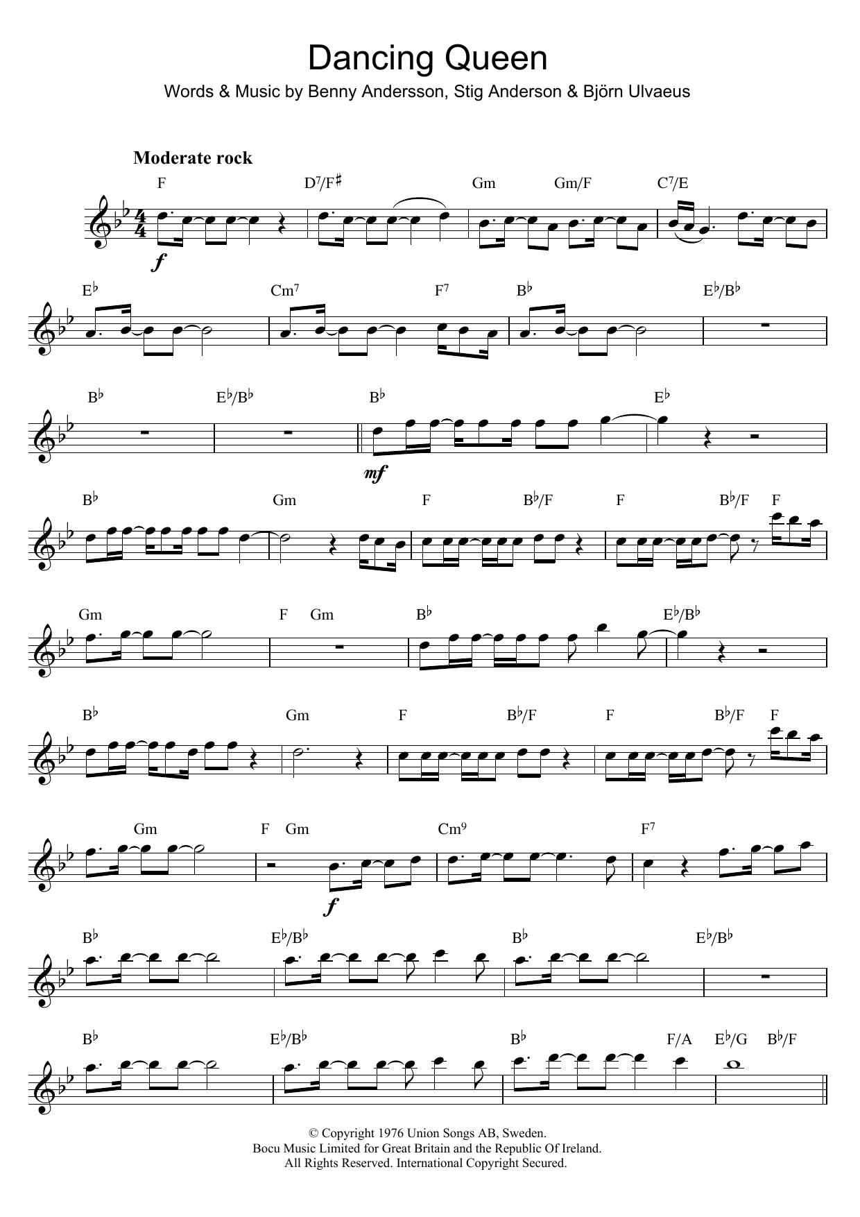 Dancing Queen (Flute Solo)