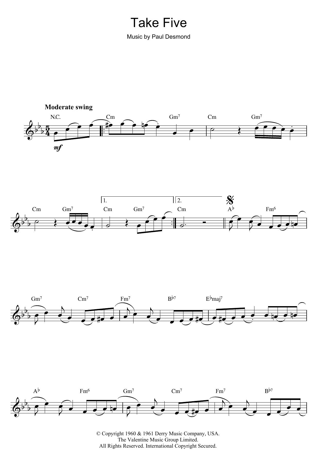 Take Five (Flute Solo)
