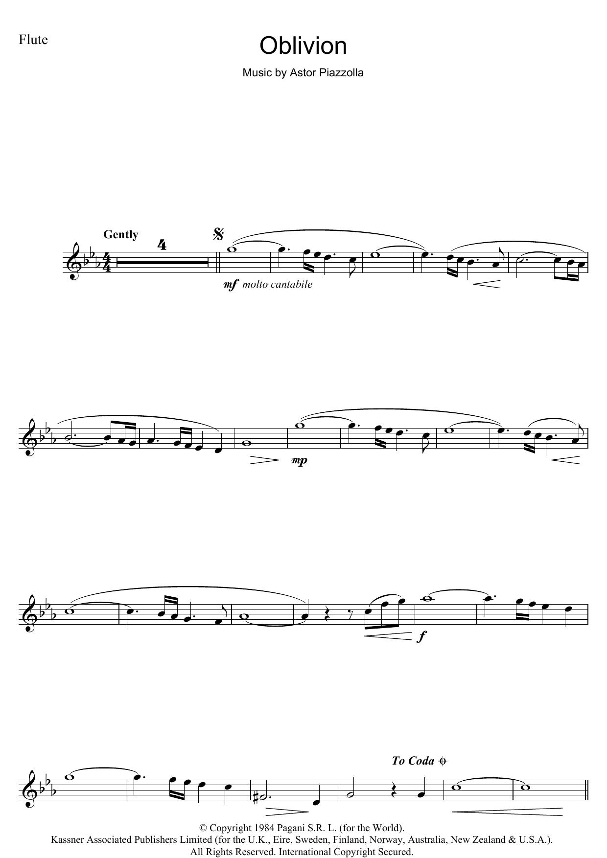 Oblivion Astor Piazzolla Guitar Pdf - Libro Rompiendo Los