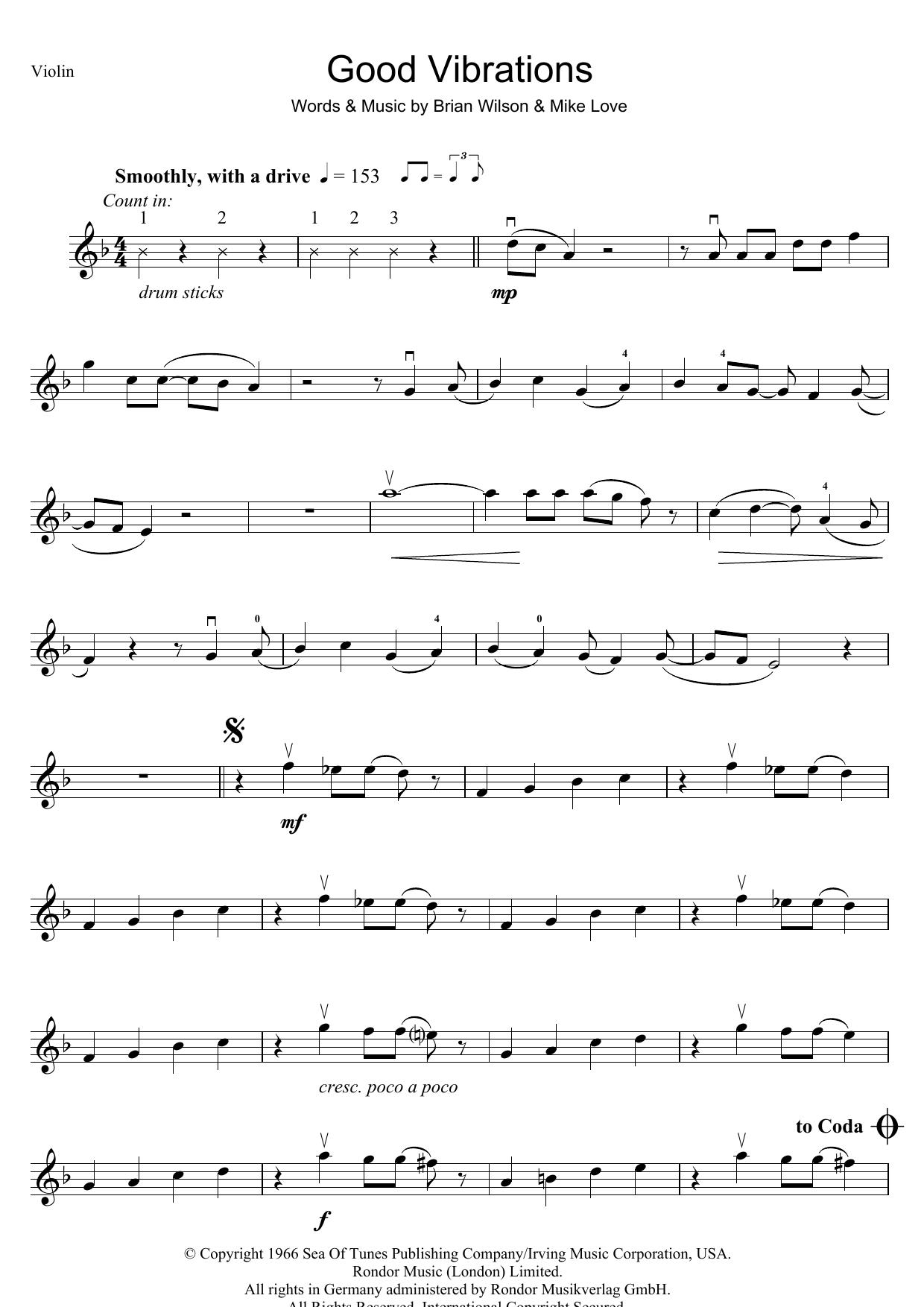 Good Vibrations (Violin Solo)
