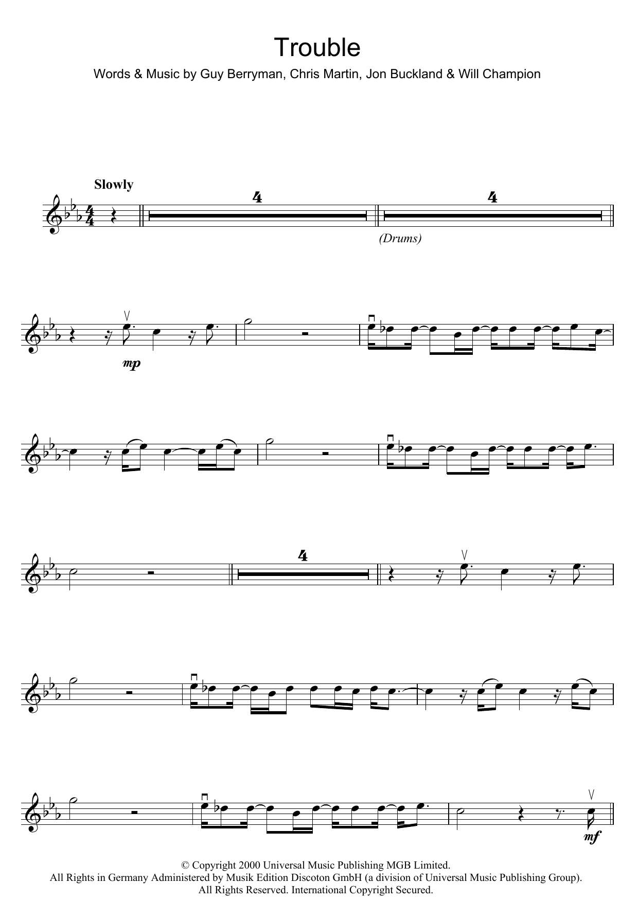 Trouble (Violin Solo)