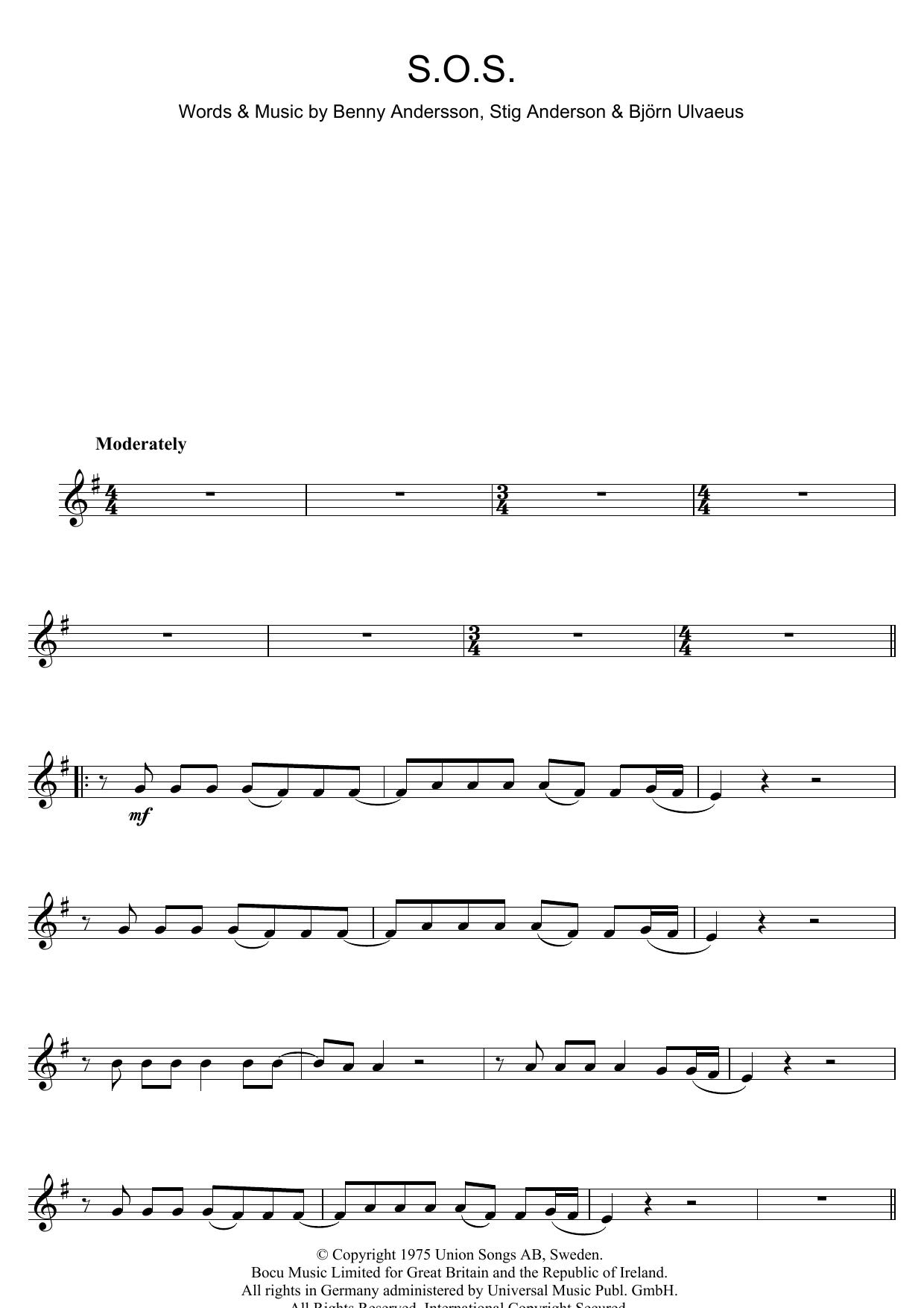 S.O.S. (Clarinet Solo)