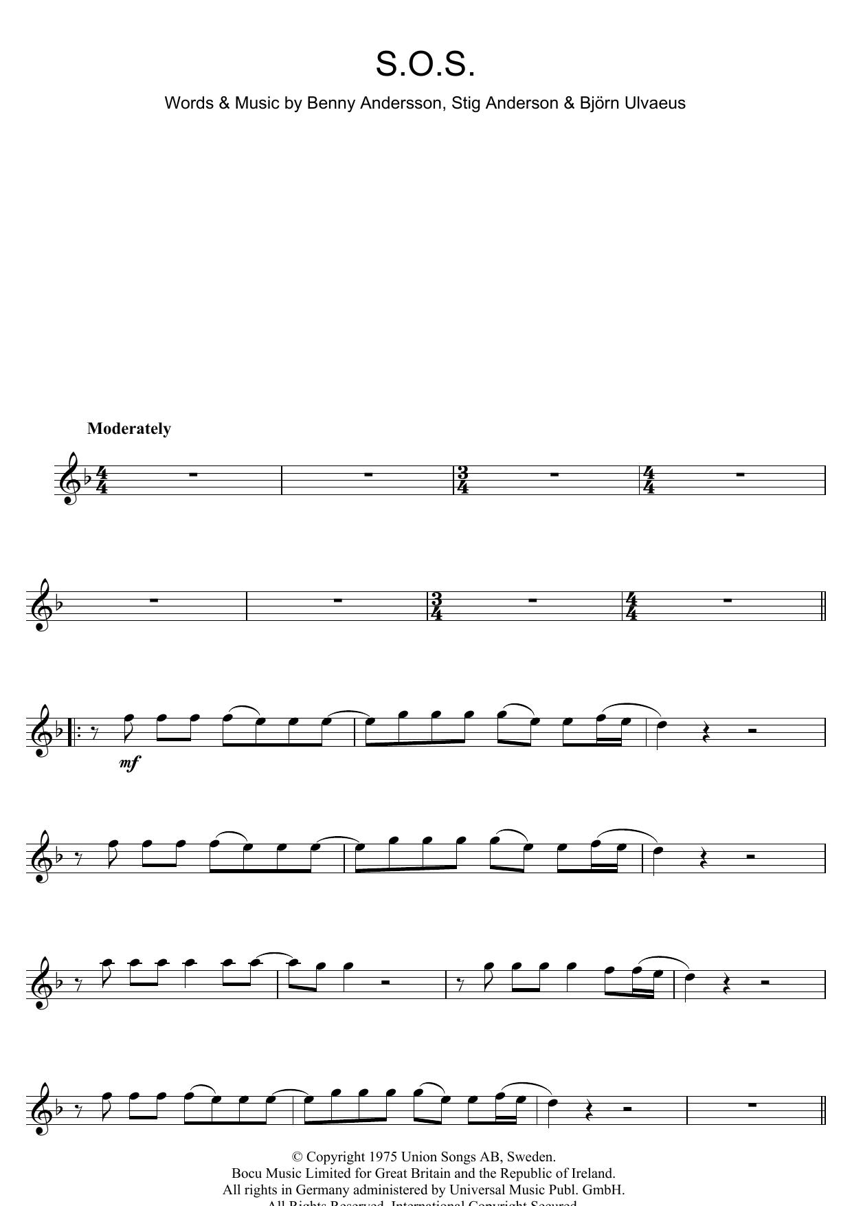 S.O.S. (Flute Solo)