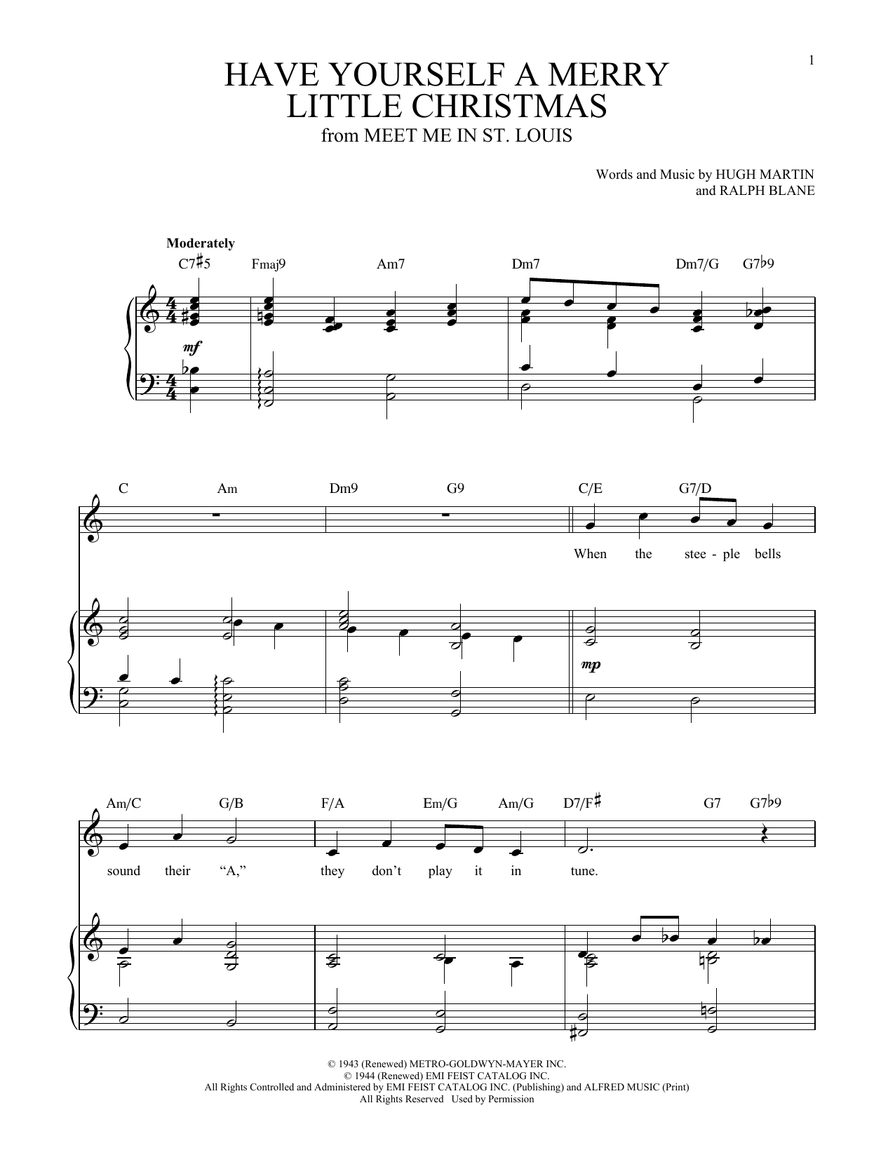 I\'ll Be Home For Christmas by Kim Gannon, Walter Kent - Hal Leonard ...