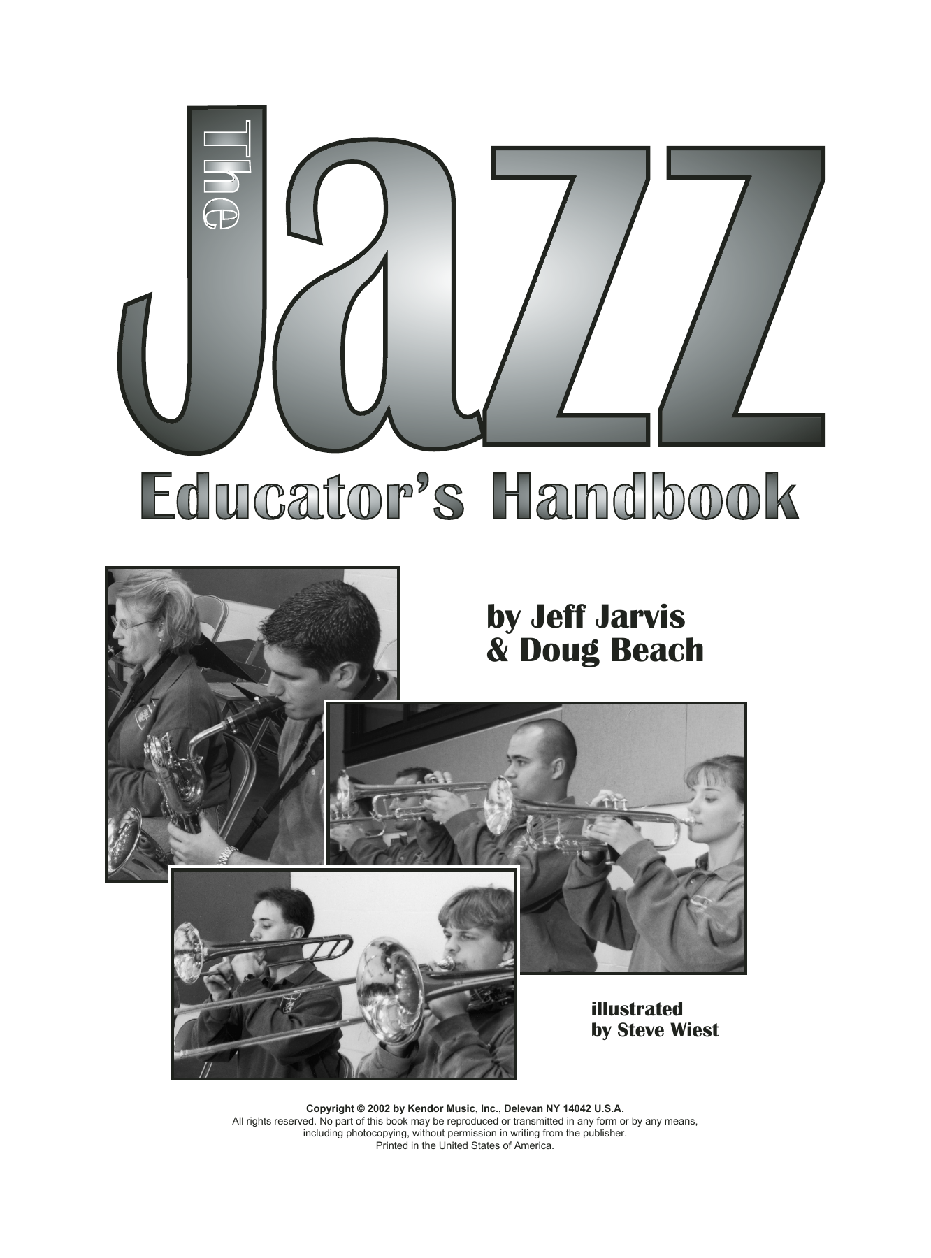 The Jazz Educator's Handbook (complete set of parts) sheet music for wind and brass instruments by Jeff Jarvis and Doug Beach. Score Image Preview.