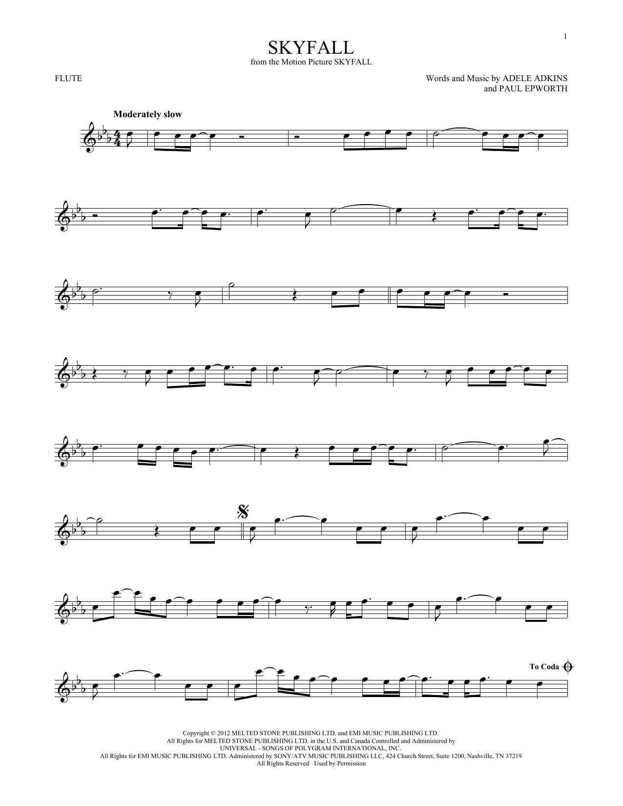 Skyfall (Flute Solo)