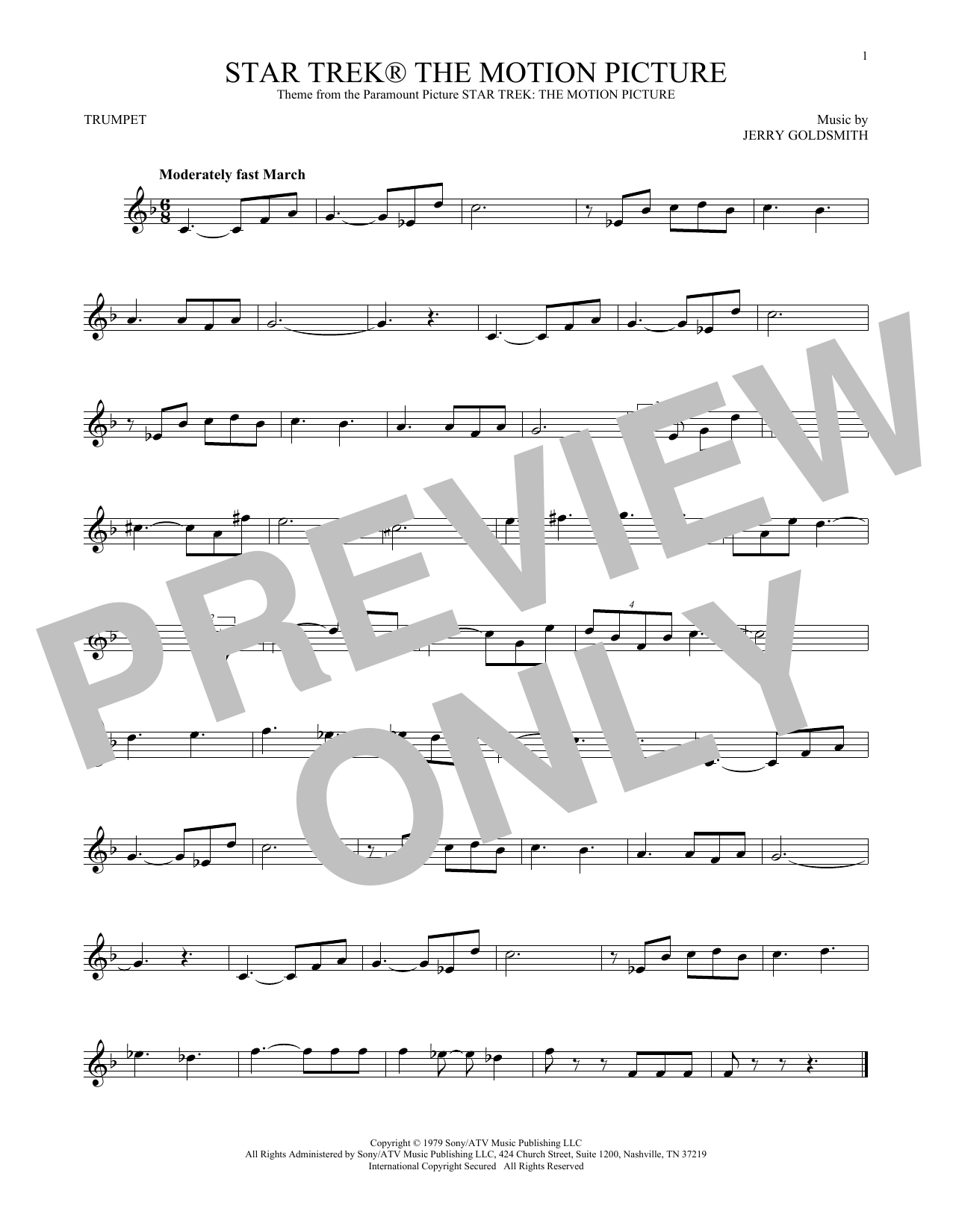 Star Trek The Motion Picture (Trumpet Solo)