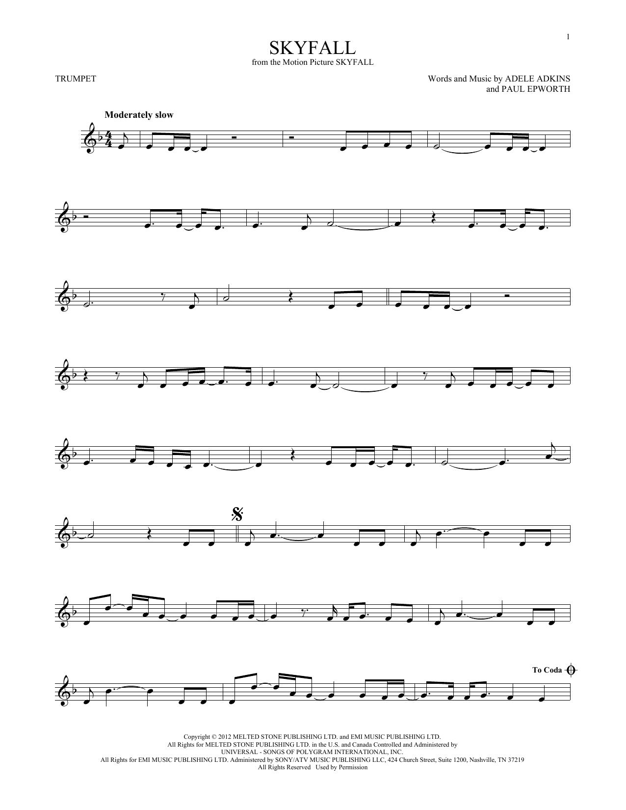 Skyfall (Trumpet Solo)