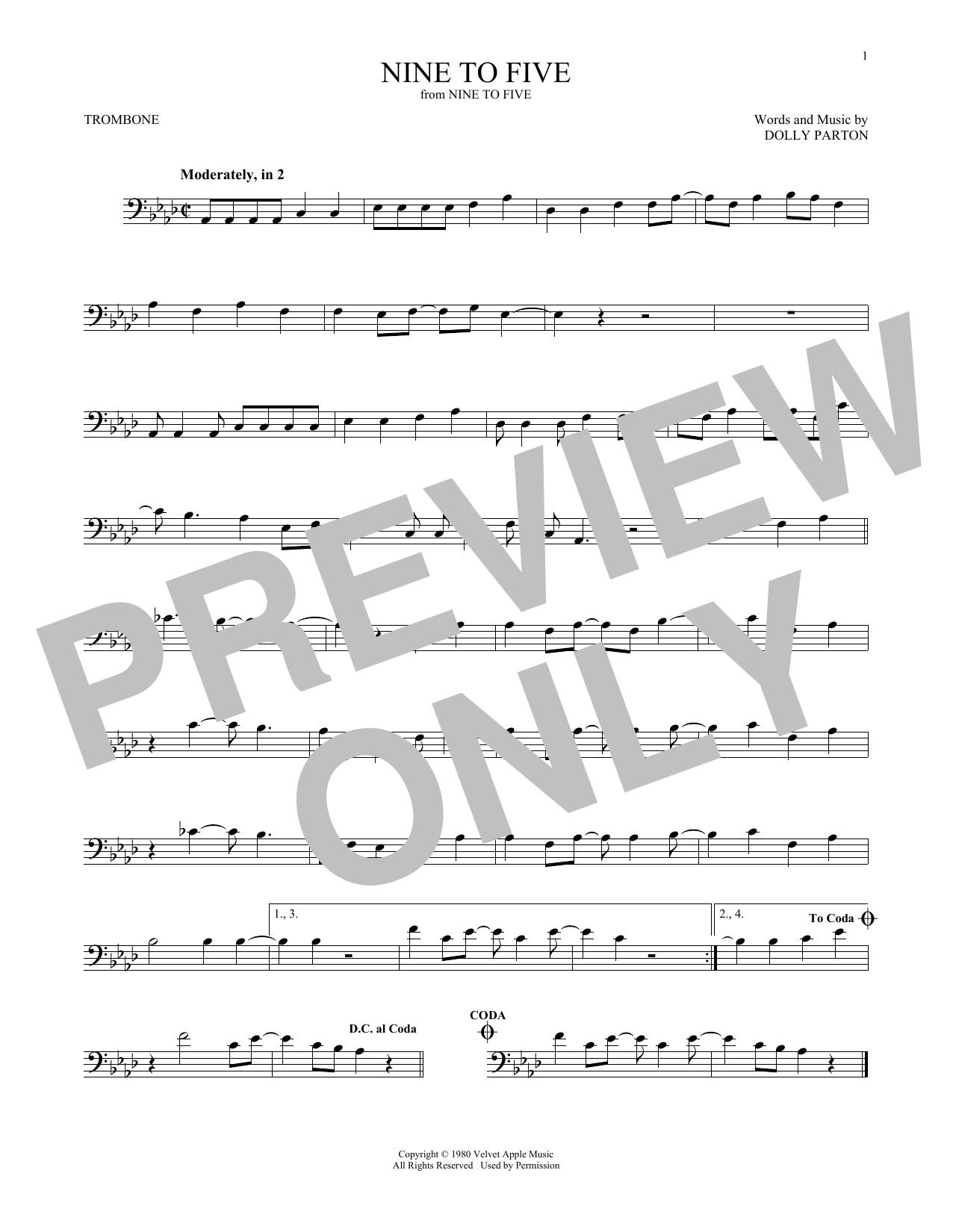 Nine To Five (Trombone Solo)