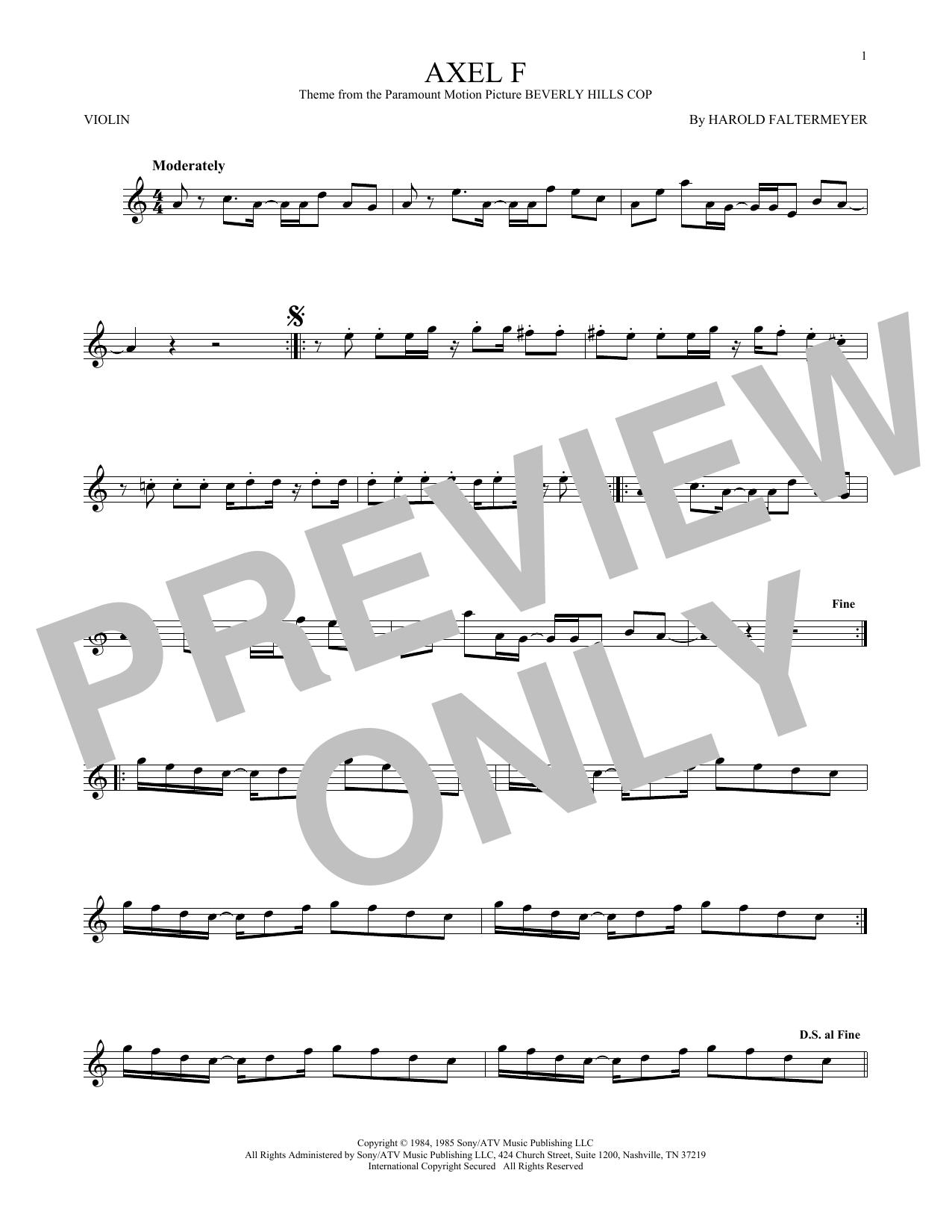 Violin Crazy Frog At Stantons Sheet Music