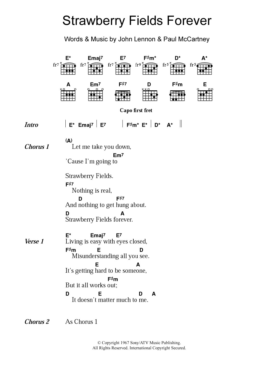 Sheet Music Digital Files To Print Licensed Guitar Chords