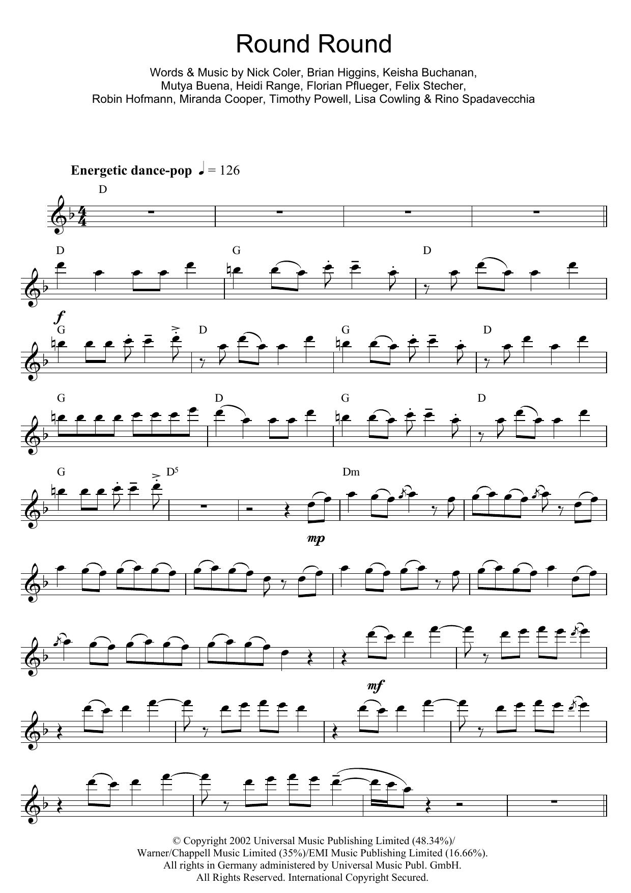 Round Round (Flute Solo)