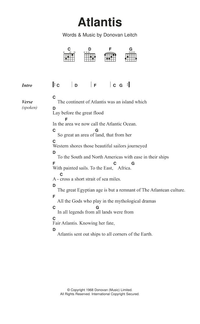 Atlantis (song)