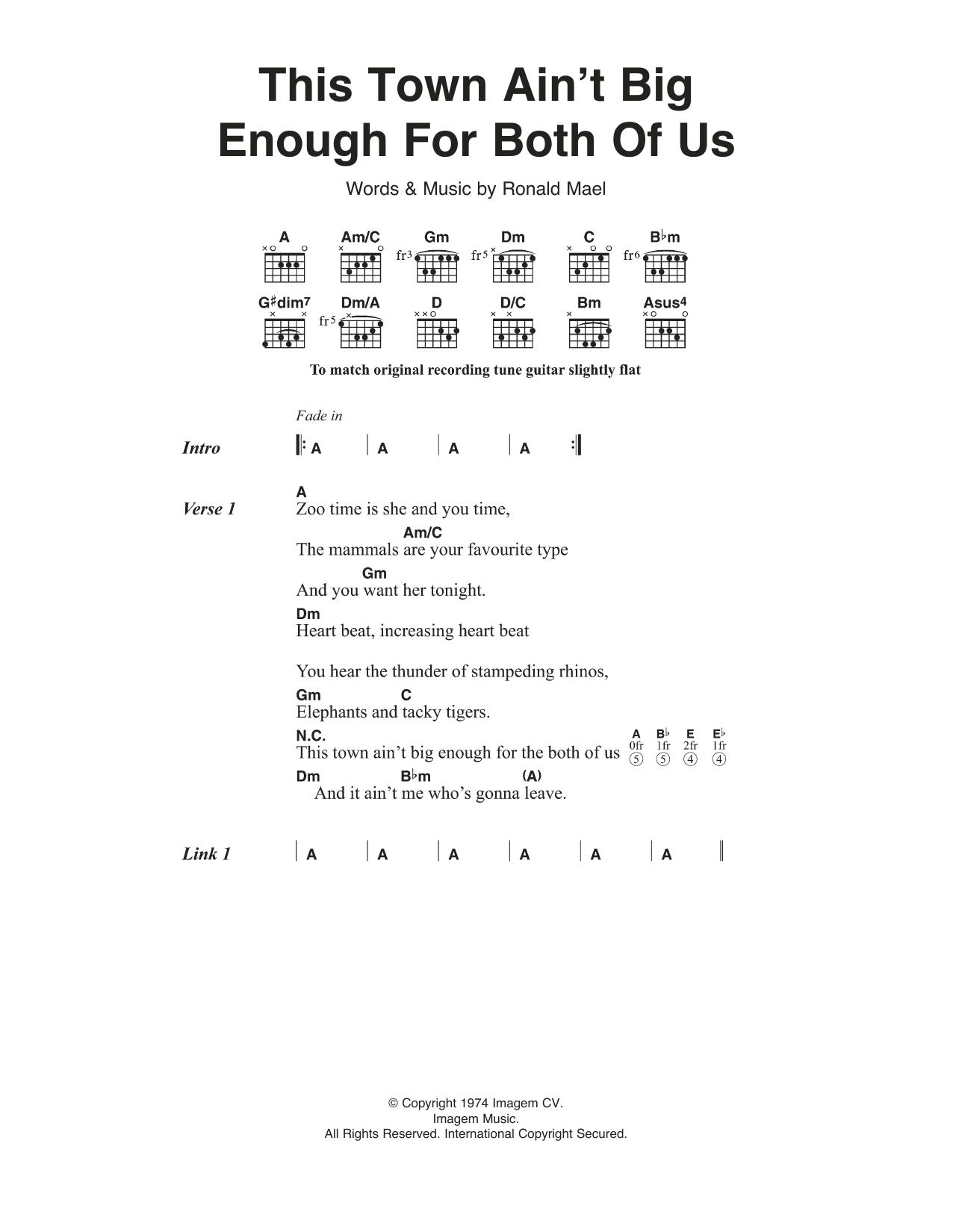 America – Town And Country Lyrics | Genius Lyrics